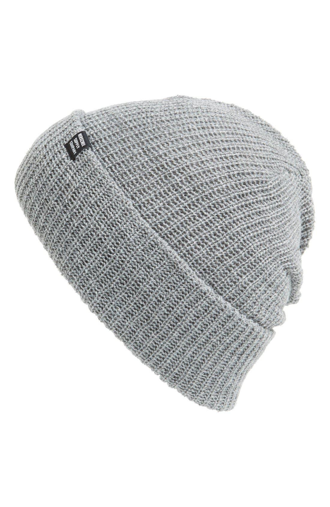 'Quartz' Solid Knit Cap,                             Main thumbnail 3, color,