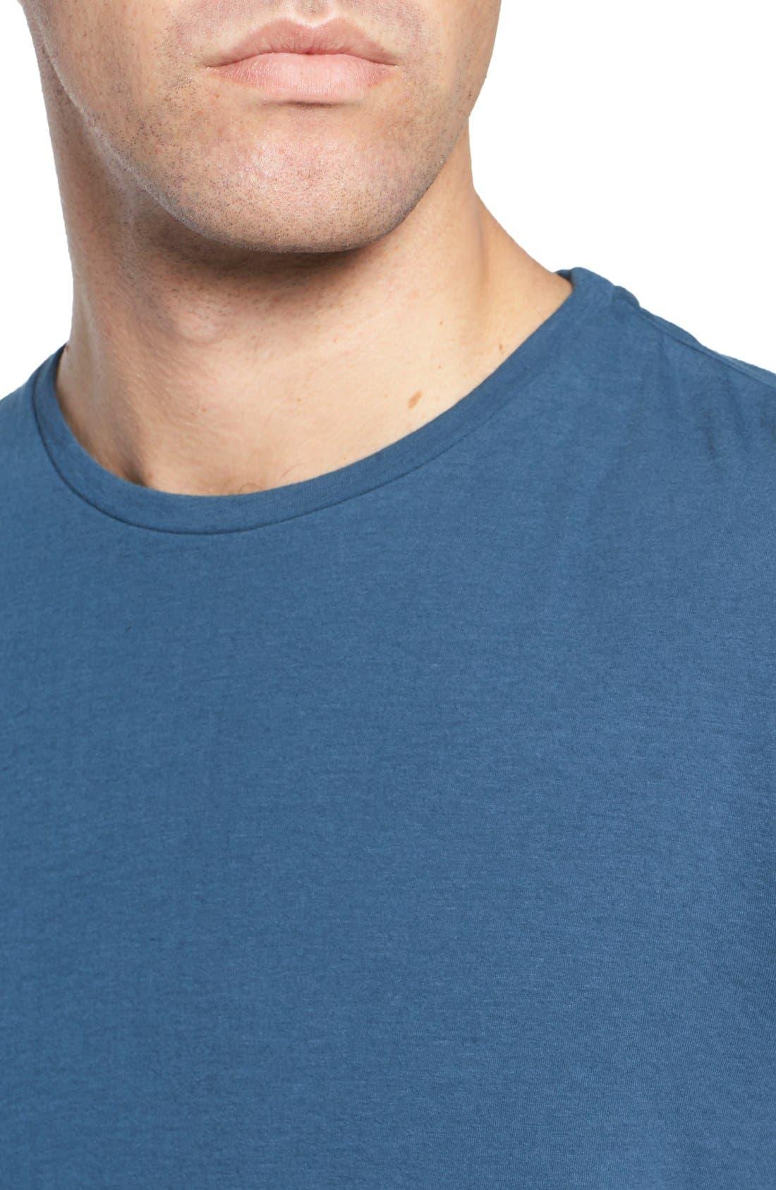 Long Sleeve Crewneck T-Shirt,                             Alternate thumbnail 15, color,