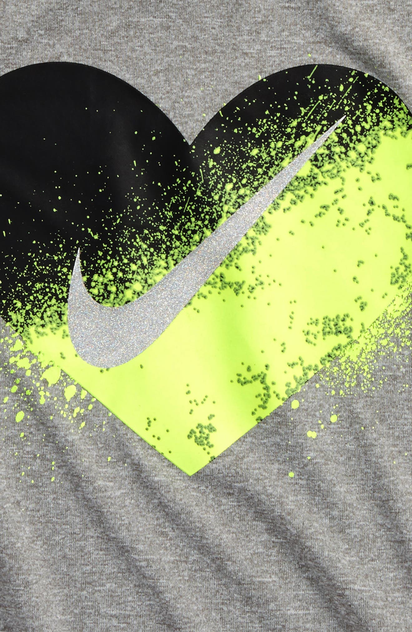 Spray Heart Dry Graphic Tee,                             Alternate thumbnail 2, color,                             088