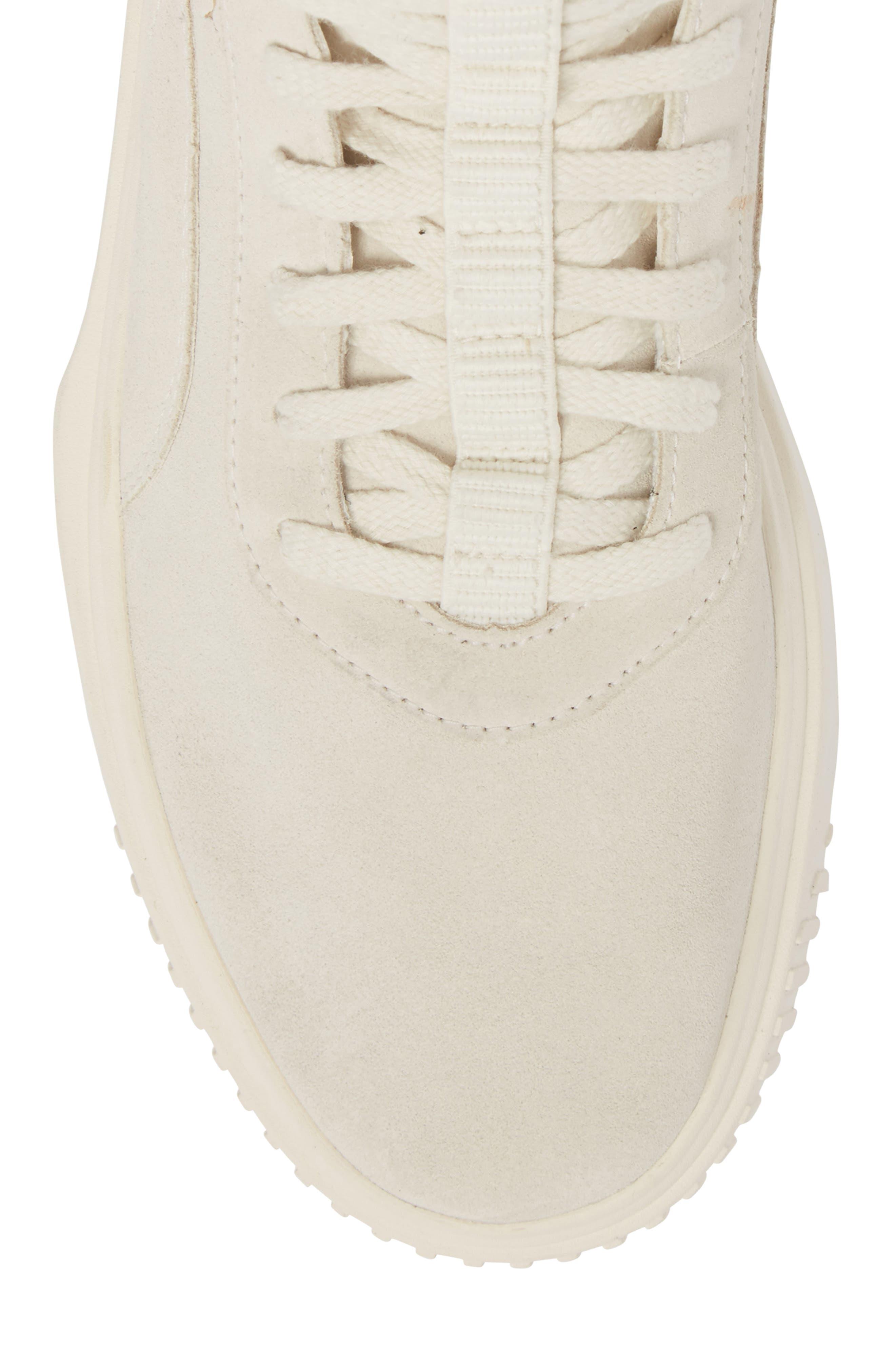 Breaker High Top Sneaker,                             Alternate thumbnail 5, color,                             WHITE