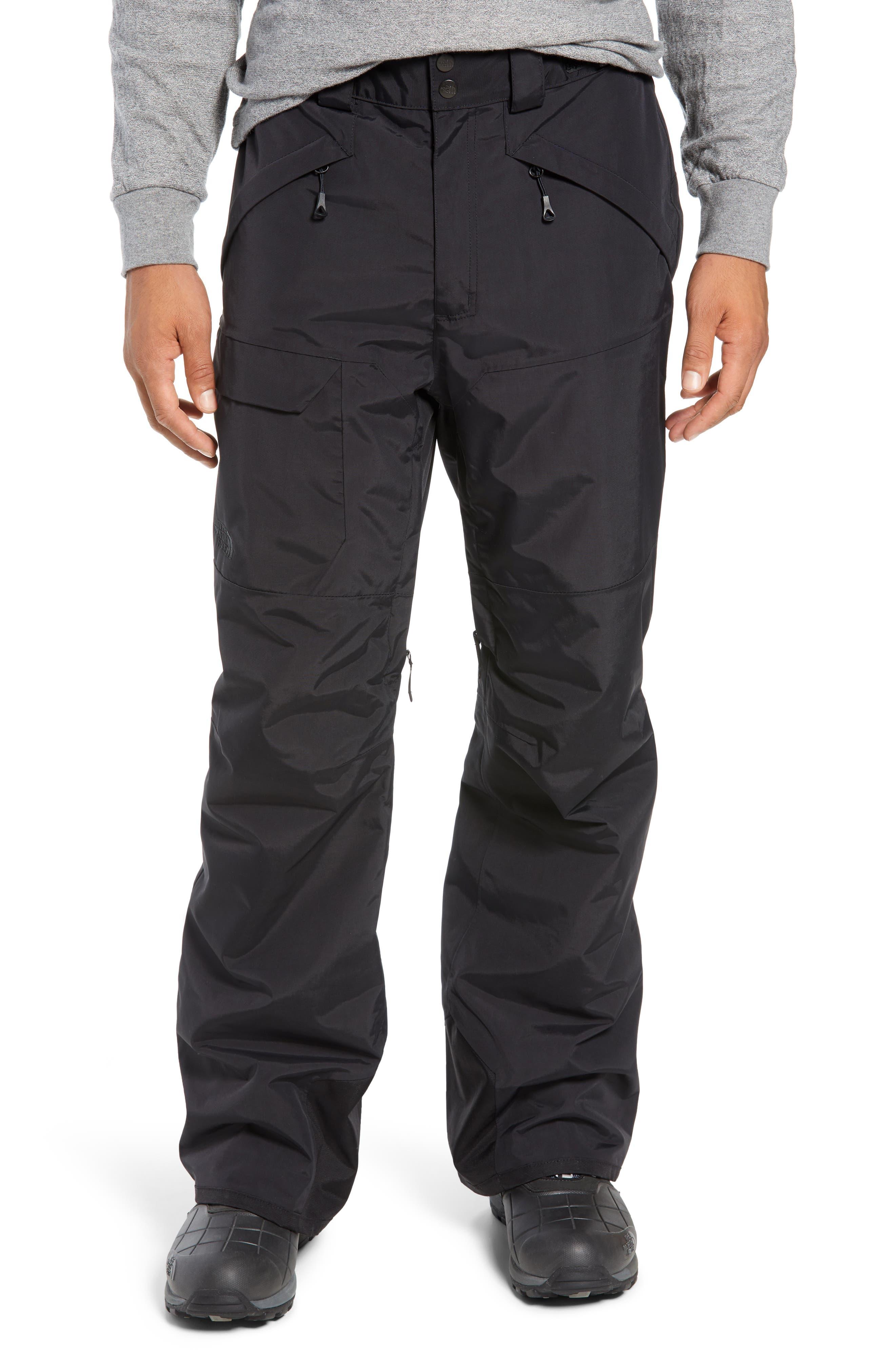 Freedom Heatseeker Insulated Snow Pants,                             Main thumbnail 1, color,                             TNF BLACK