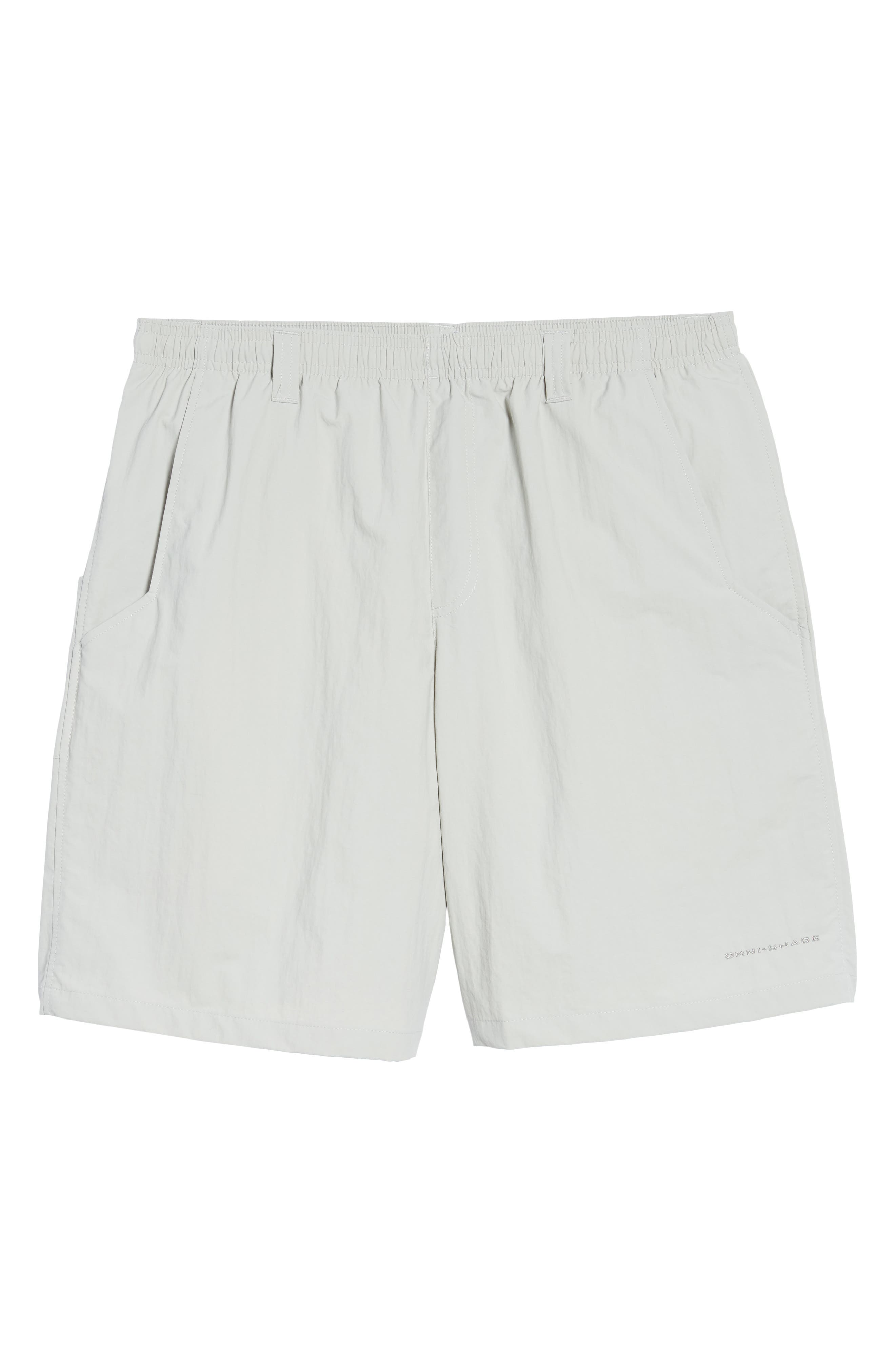 Backcast III Swim Trunks,                             Alternate thumbnail 6, color,                             COOL GREY