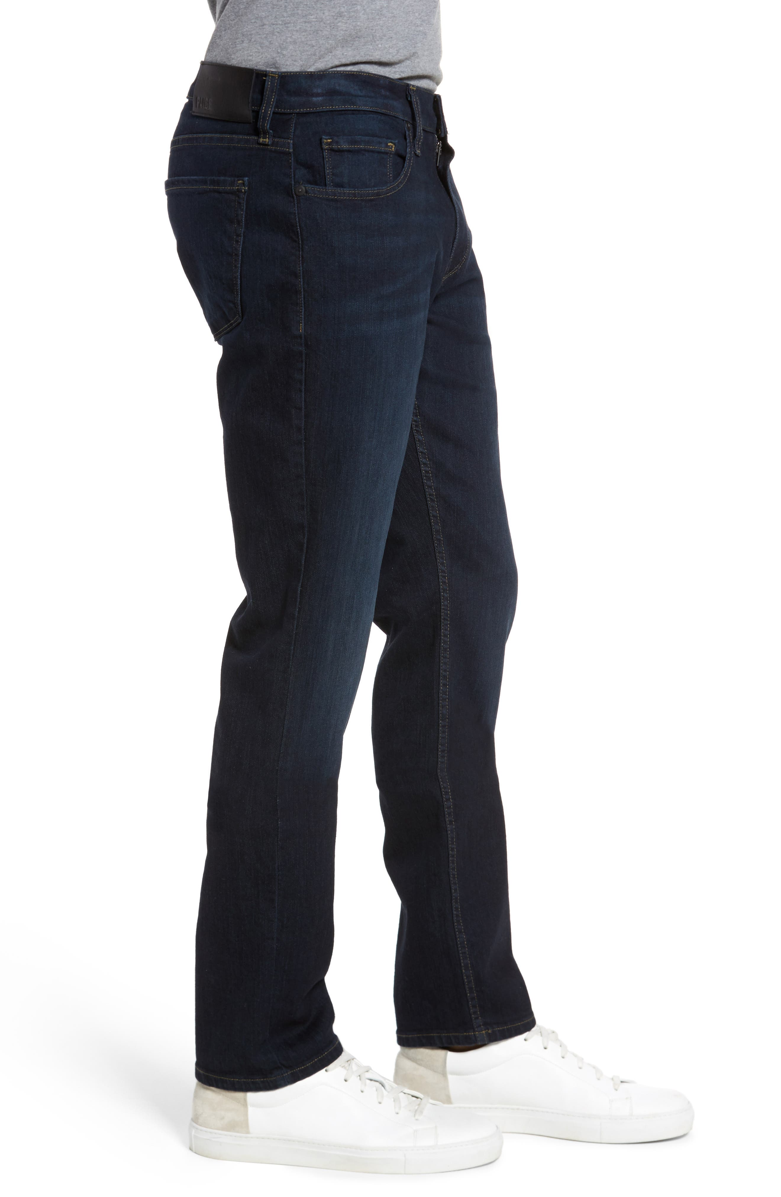 Federal Slim Straight Fit Jeans,                             Alternate thumbnail 3, color,                             400