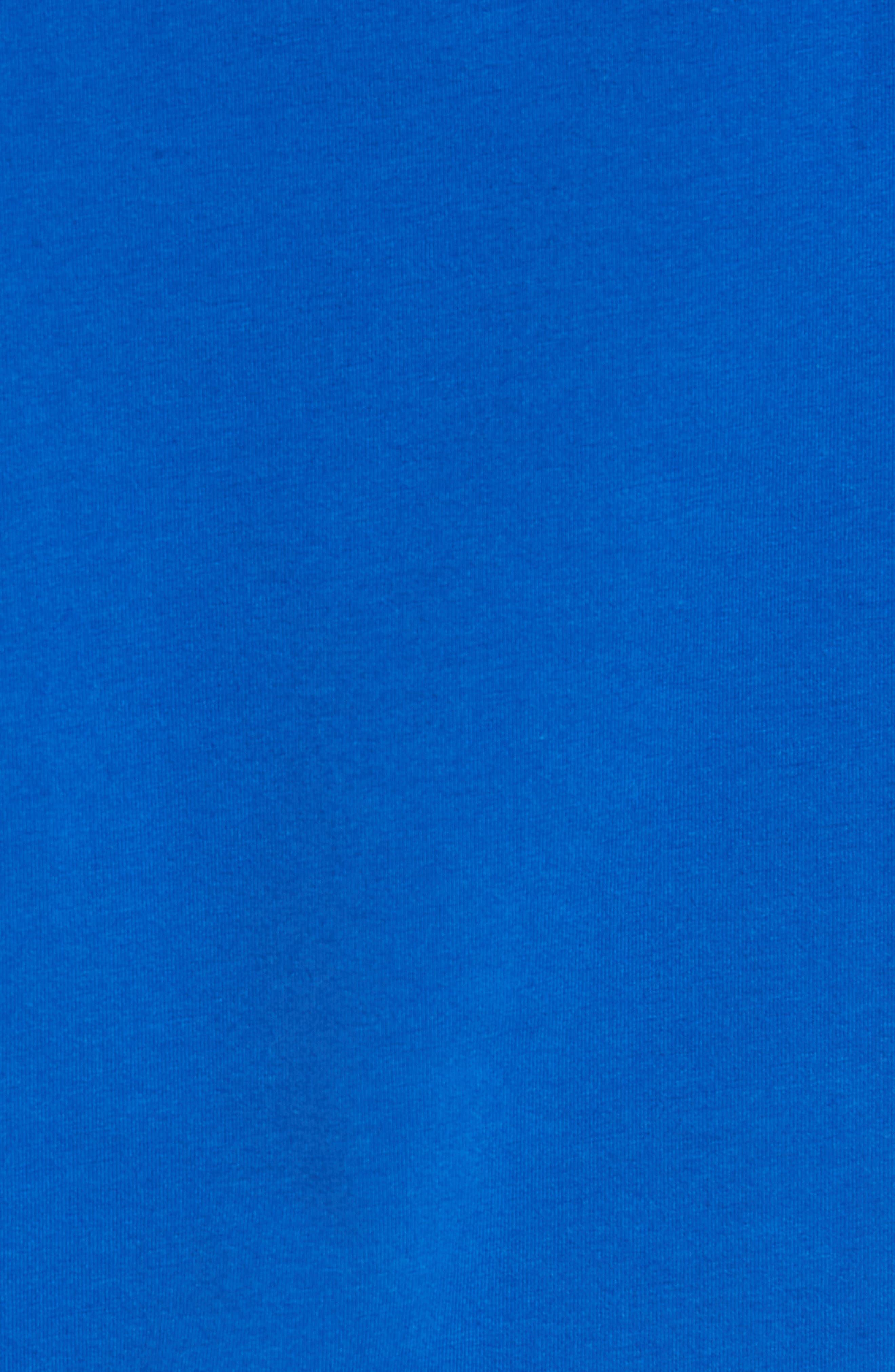 Unstoppable Short Sleeve Hoodie,                             Alternate thumbnail 5, color,                             SQUADRON / WHITE