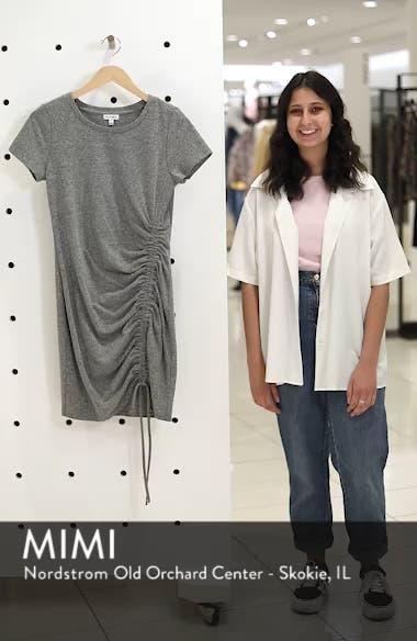 Cinch Side T-Shirt Dress, sales video thumbnail