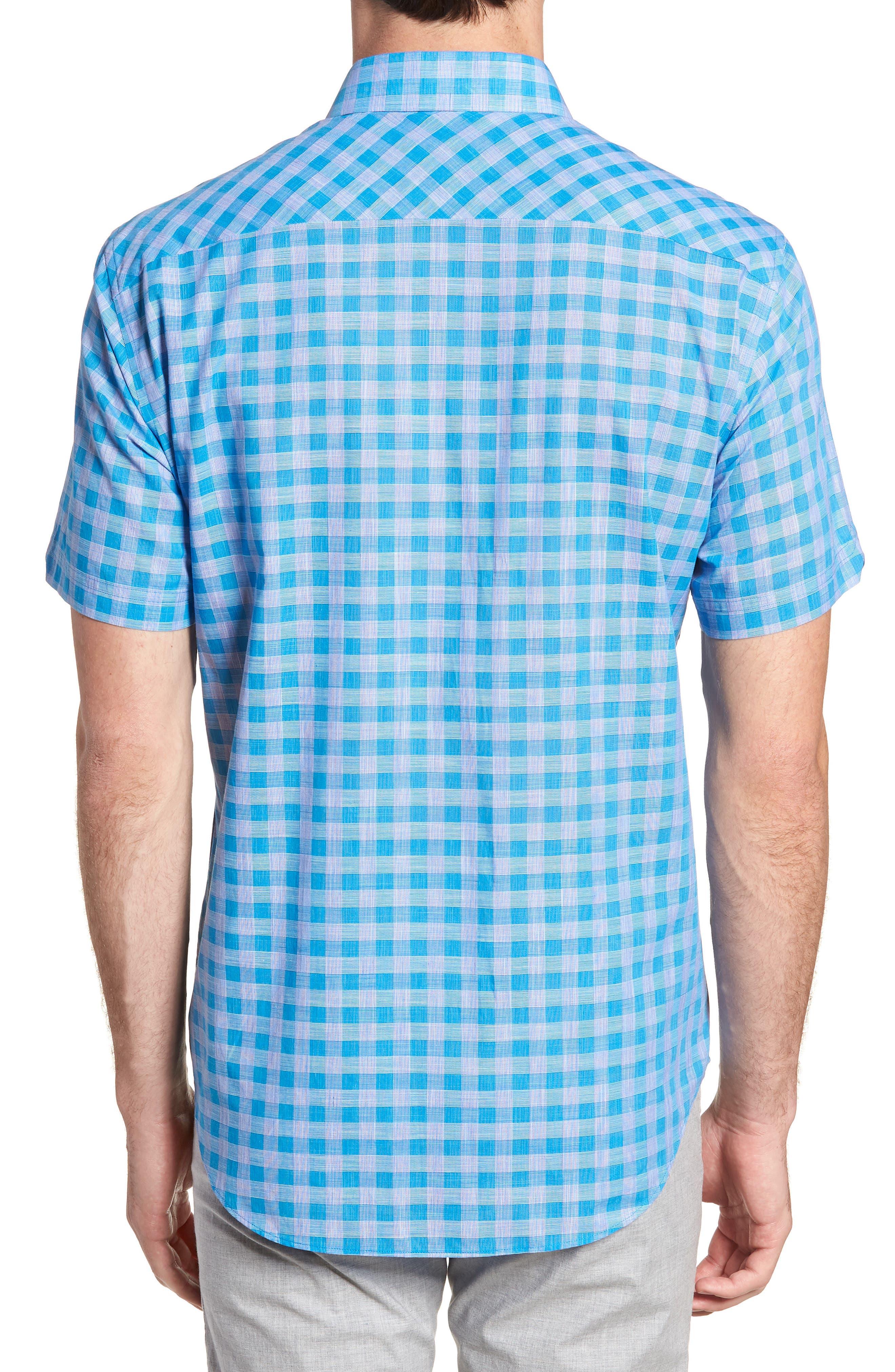 Ruder Regular Fit Check Sport Shirt,                             Alternate thumbnail 2, color,                             430