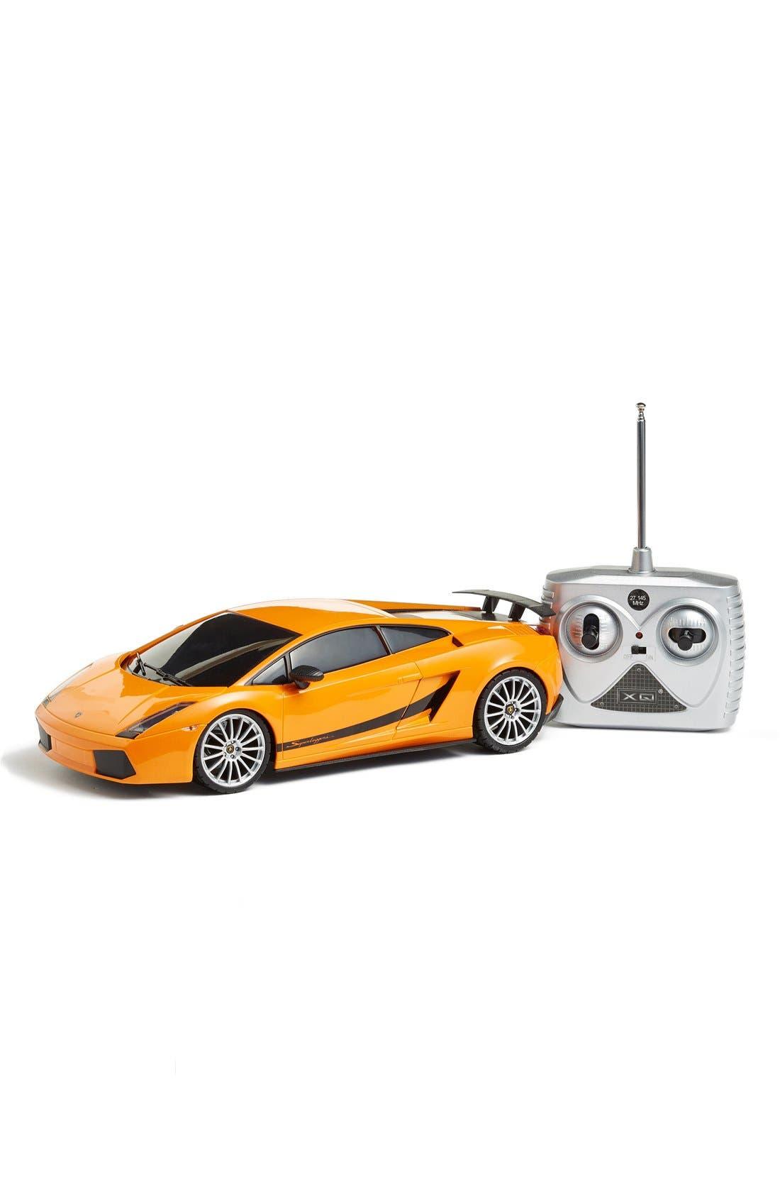 Lamborghini Superleggera 1:18 Scale Remote Control Car Toy,                         Main,                         color, 800
