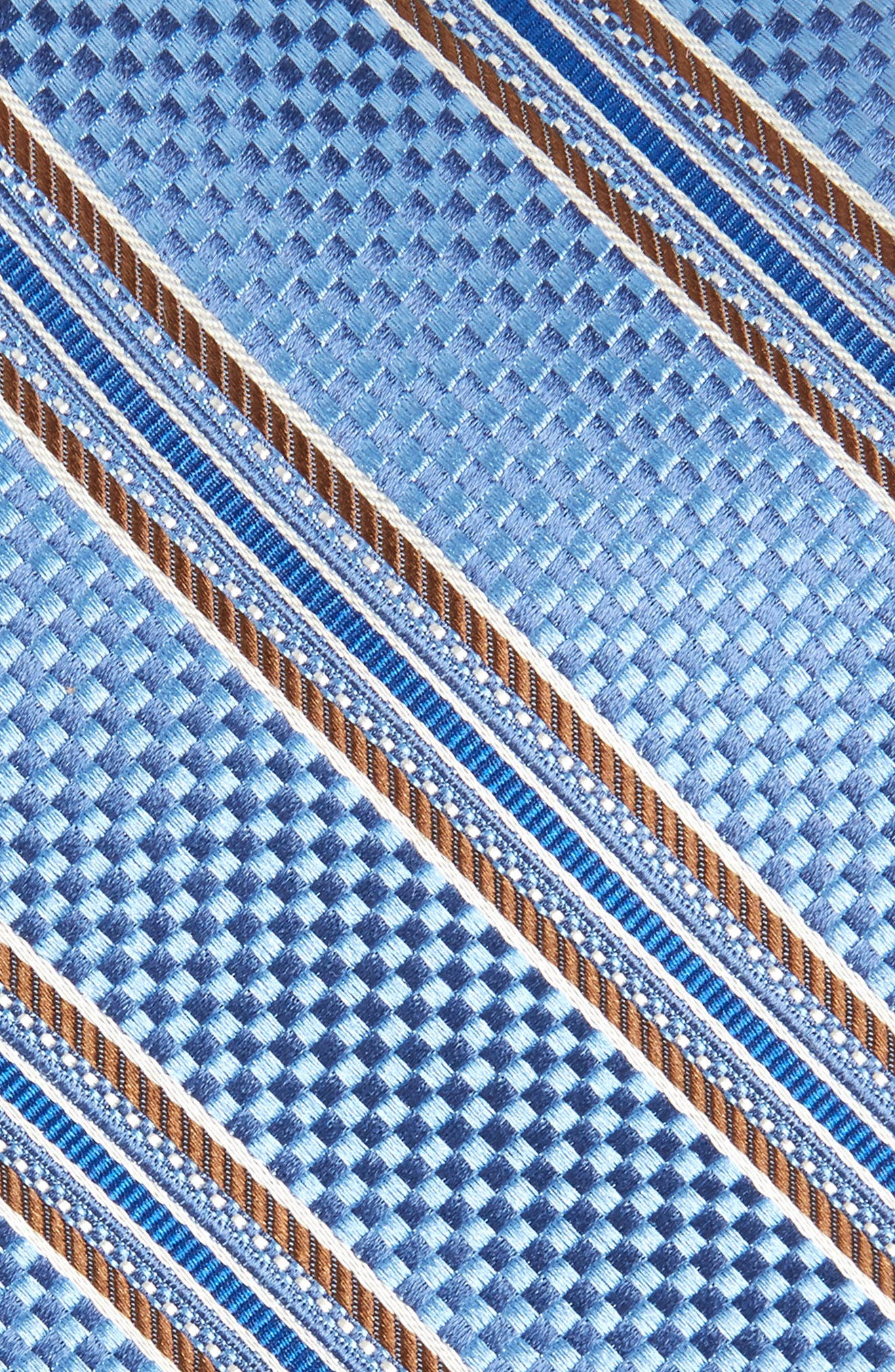 Sunlit Stripe Silk Tie,                             Alternate thumbnail 2, color,                             406