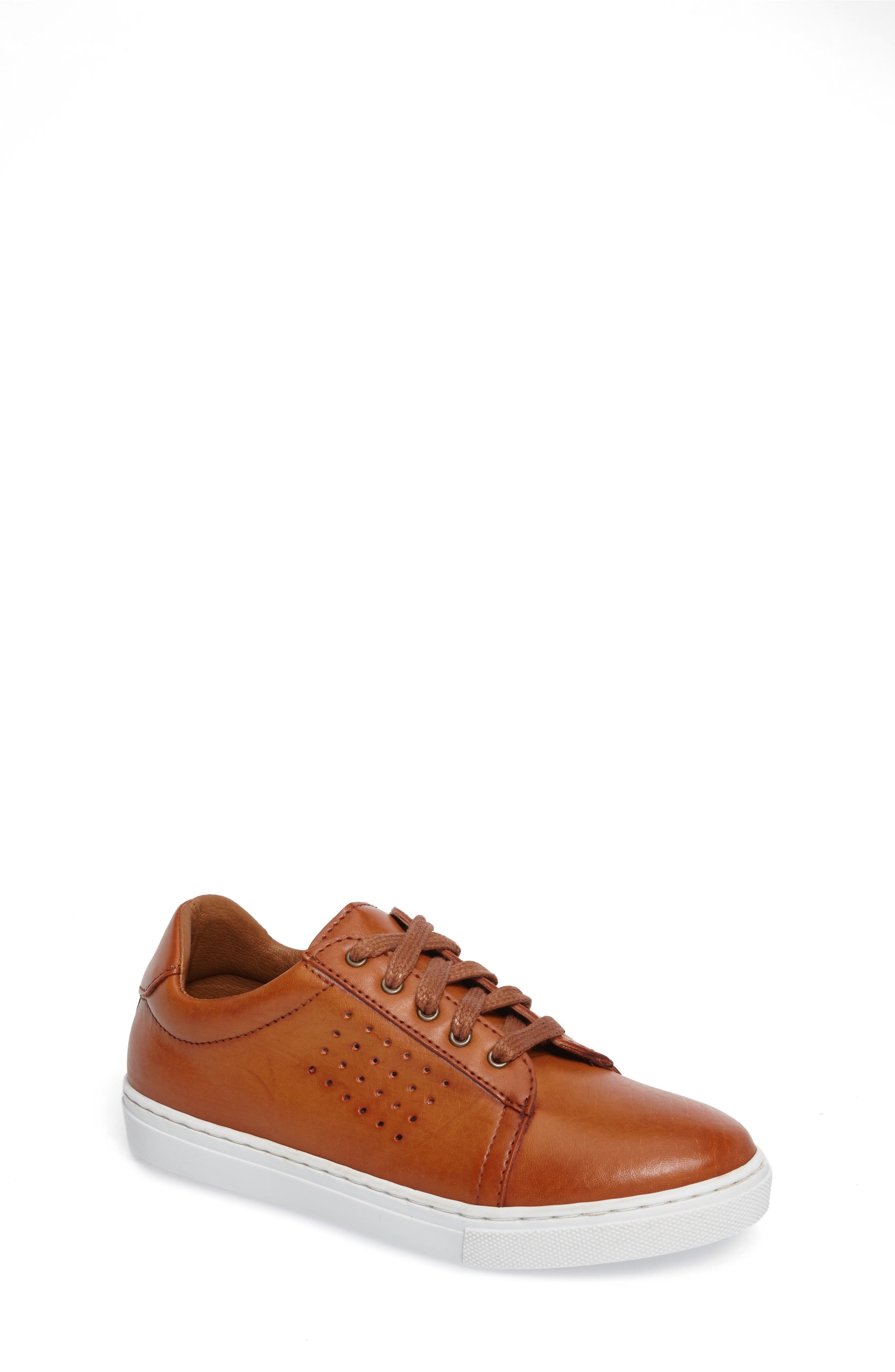 Grafte Perforated Sneaker,                         Main,                         color, NATURALE