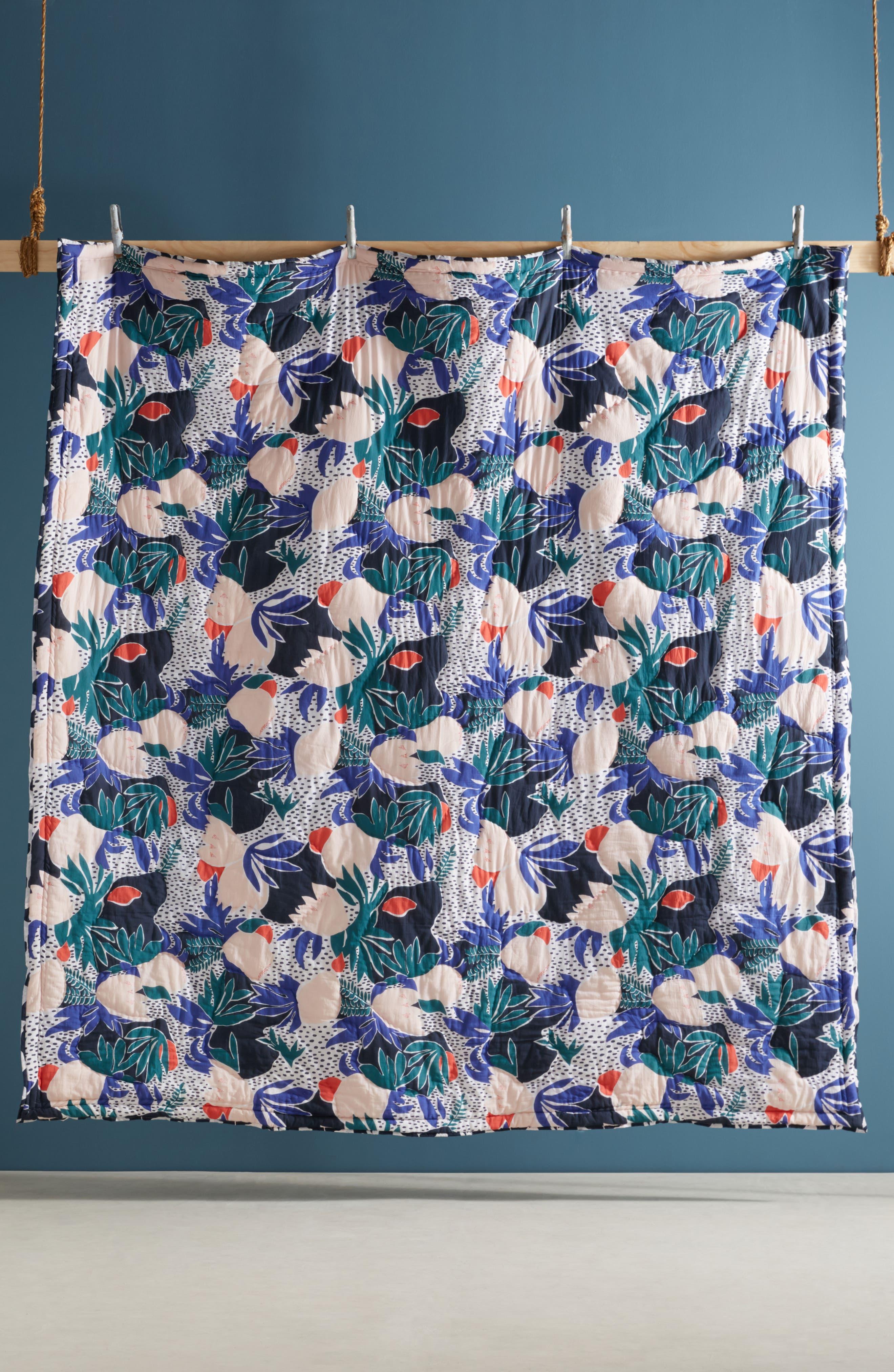Cassie Byrnes Melbourne Quilt,                             Alternate thumbnail 4, color,                             400