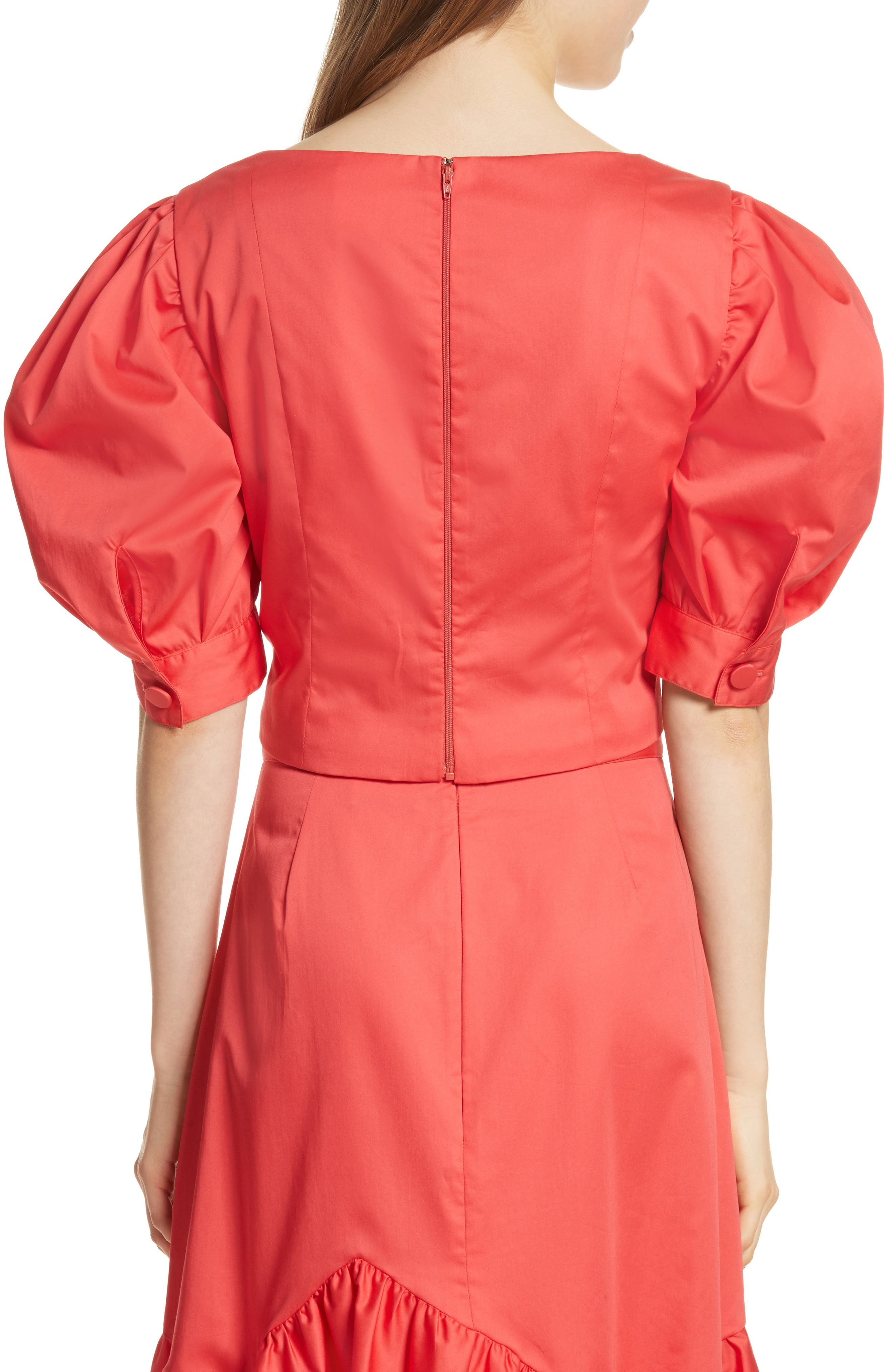 Prose & Poetry Claudia Puff Sleeve Top,                             Alternate thumbnail 2, color,                             621
