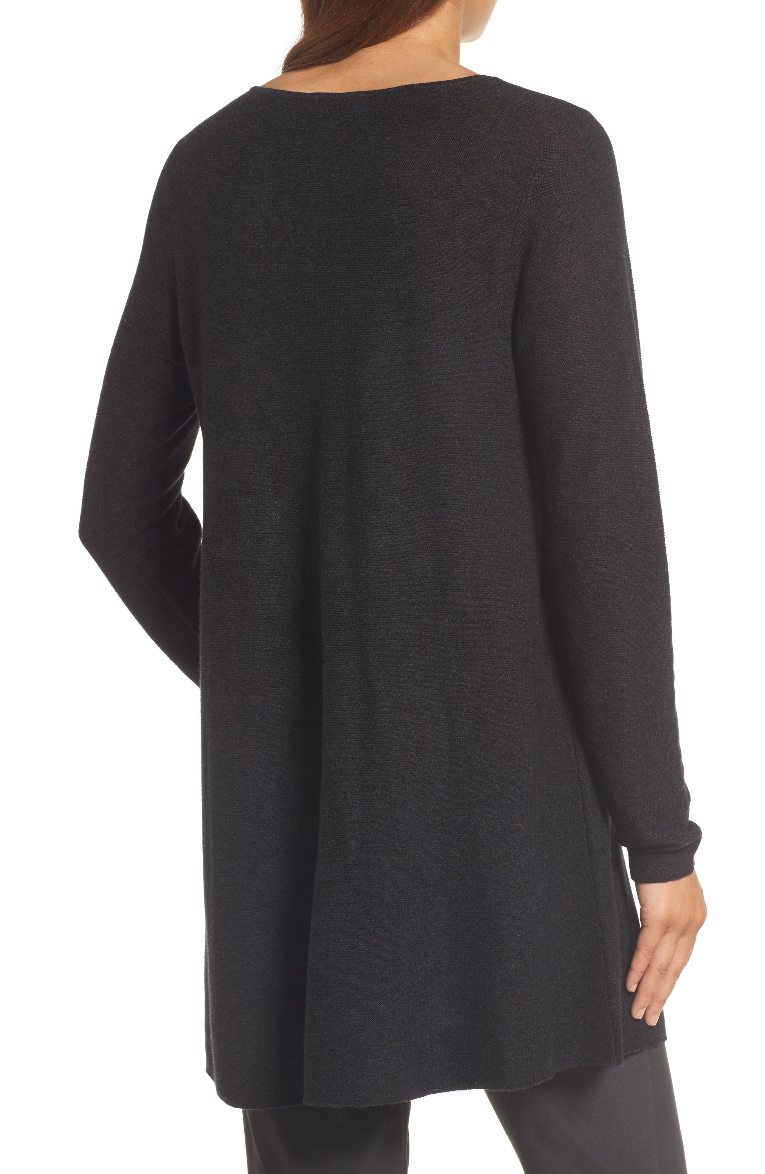 Jewel Neck Tunic Sweater,                             Alternate thumbnail 2, color,                             021