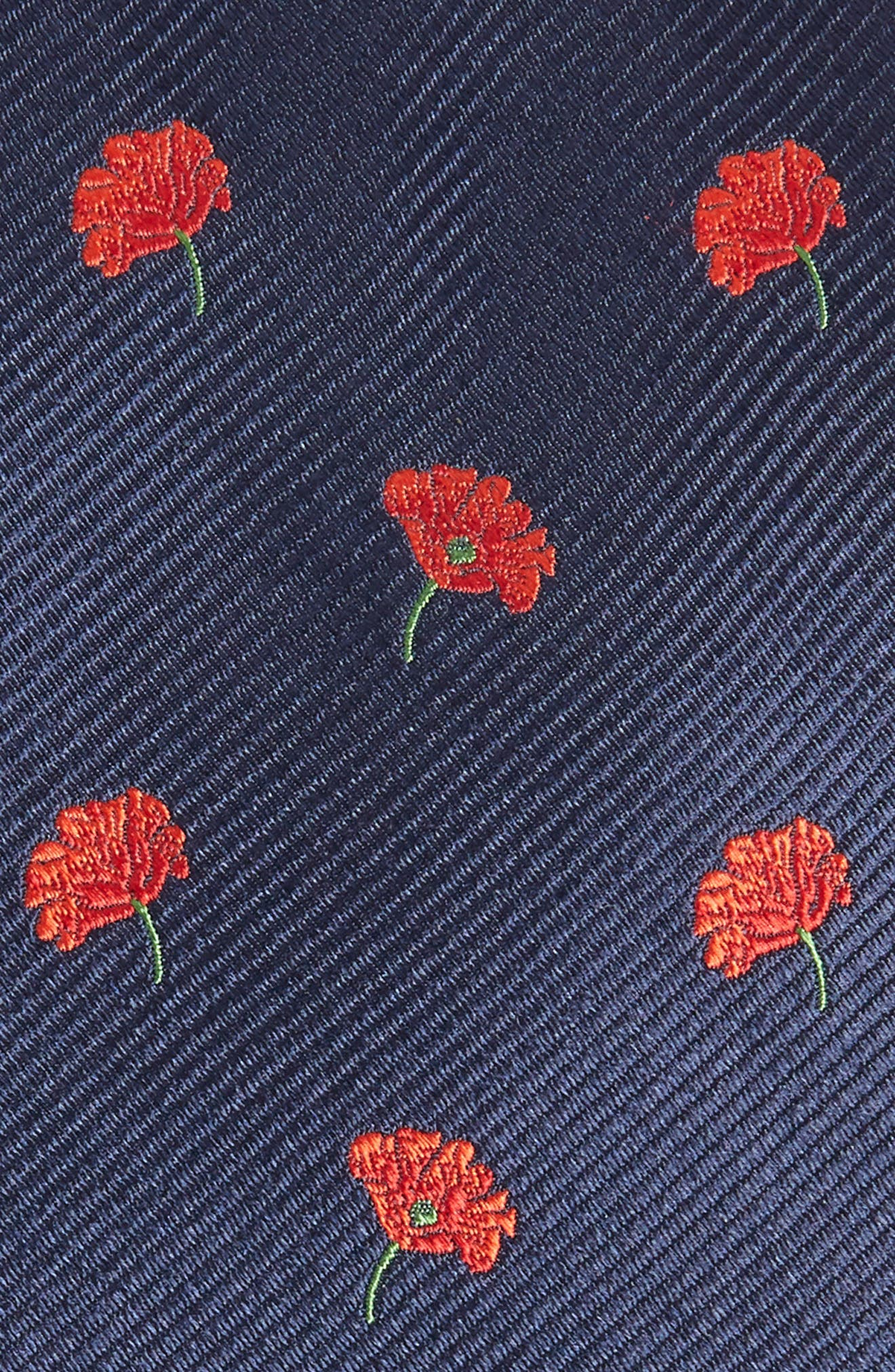 Baywater Floral Silk Tie,                             Alternate thumbnail 2, color,                             400