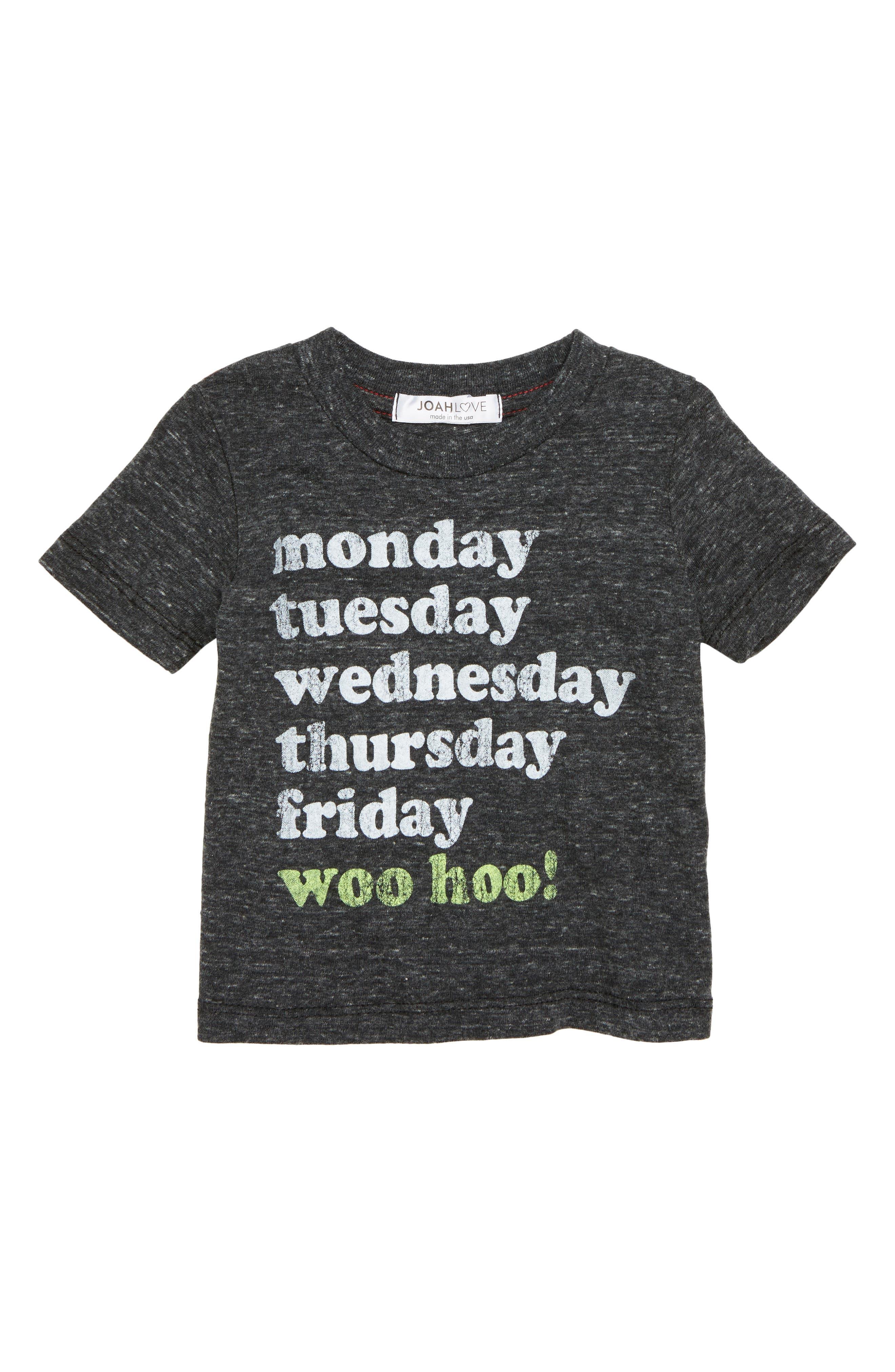 Woo Hoo T-Shirt,                             Main thumbnail 1, color,                             001