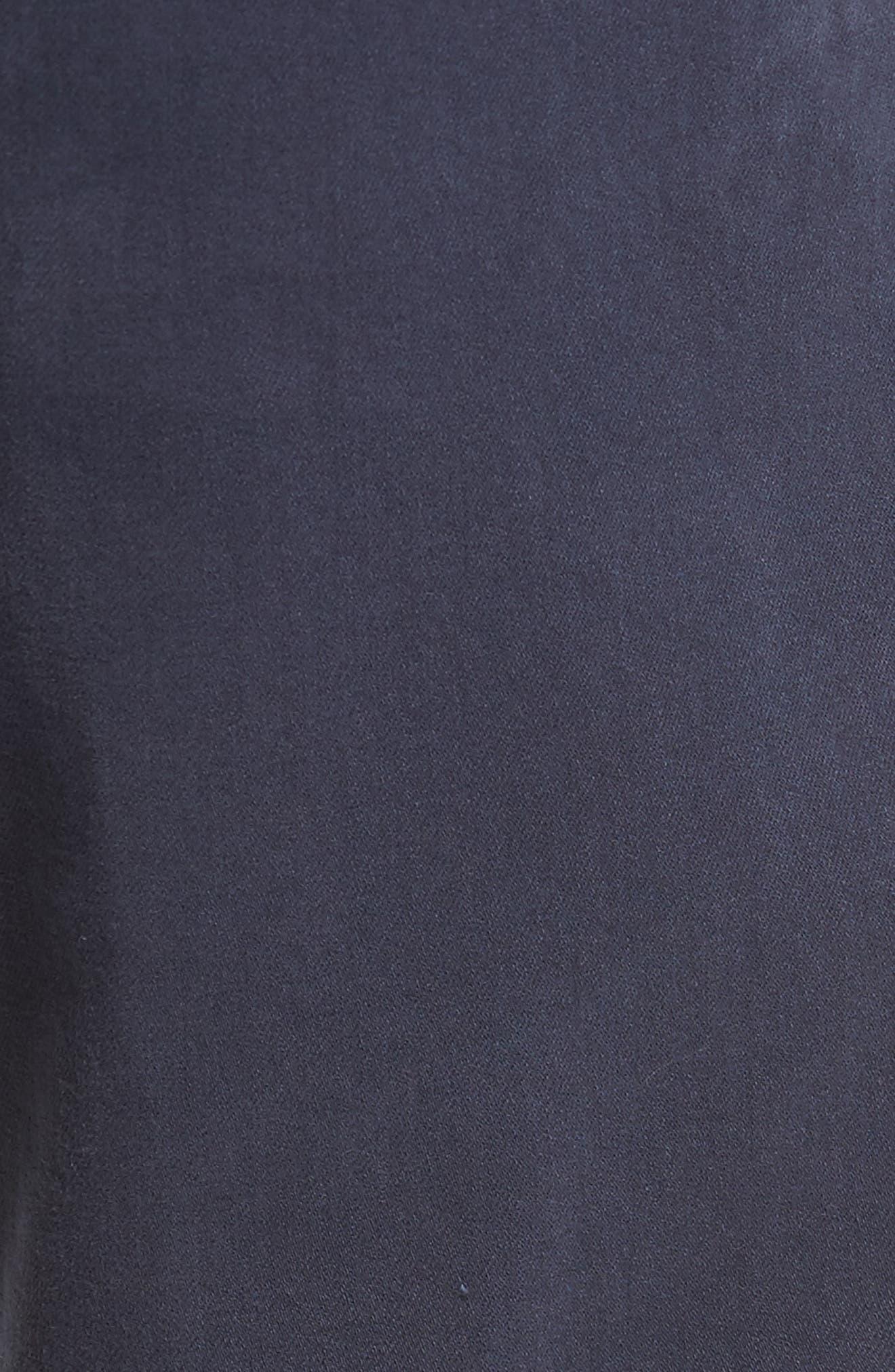 Kinetic Slim Fit Twill Pants,                             Alternate thumbnail 5, color,                             NAVY