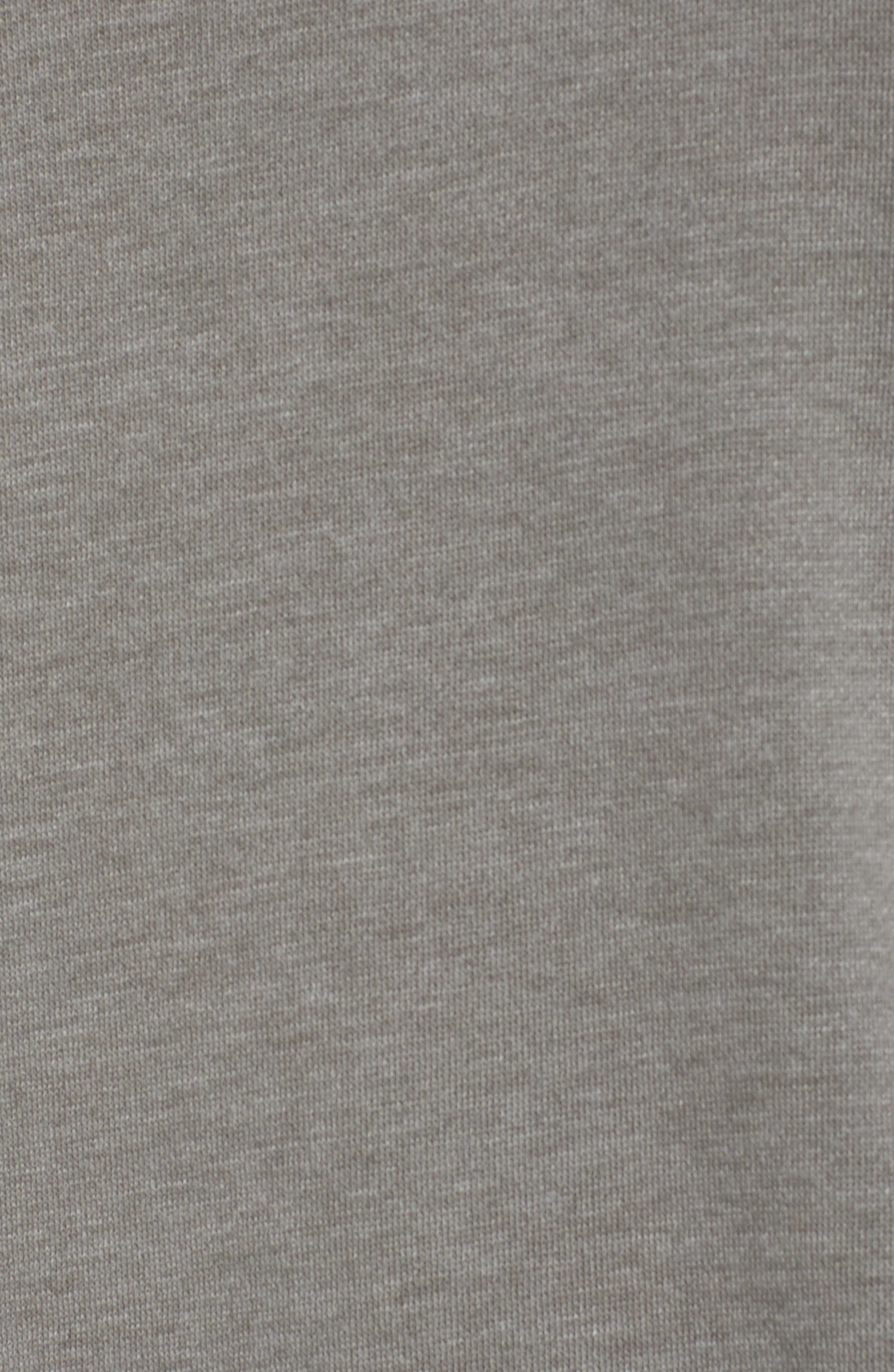 Lounge Sweatshirt Dress,                             Alternate thumbnail 5, color,                             001