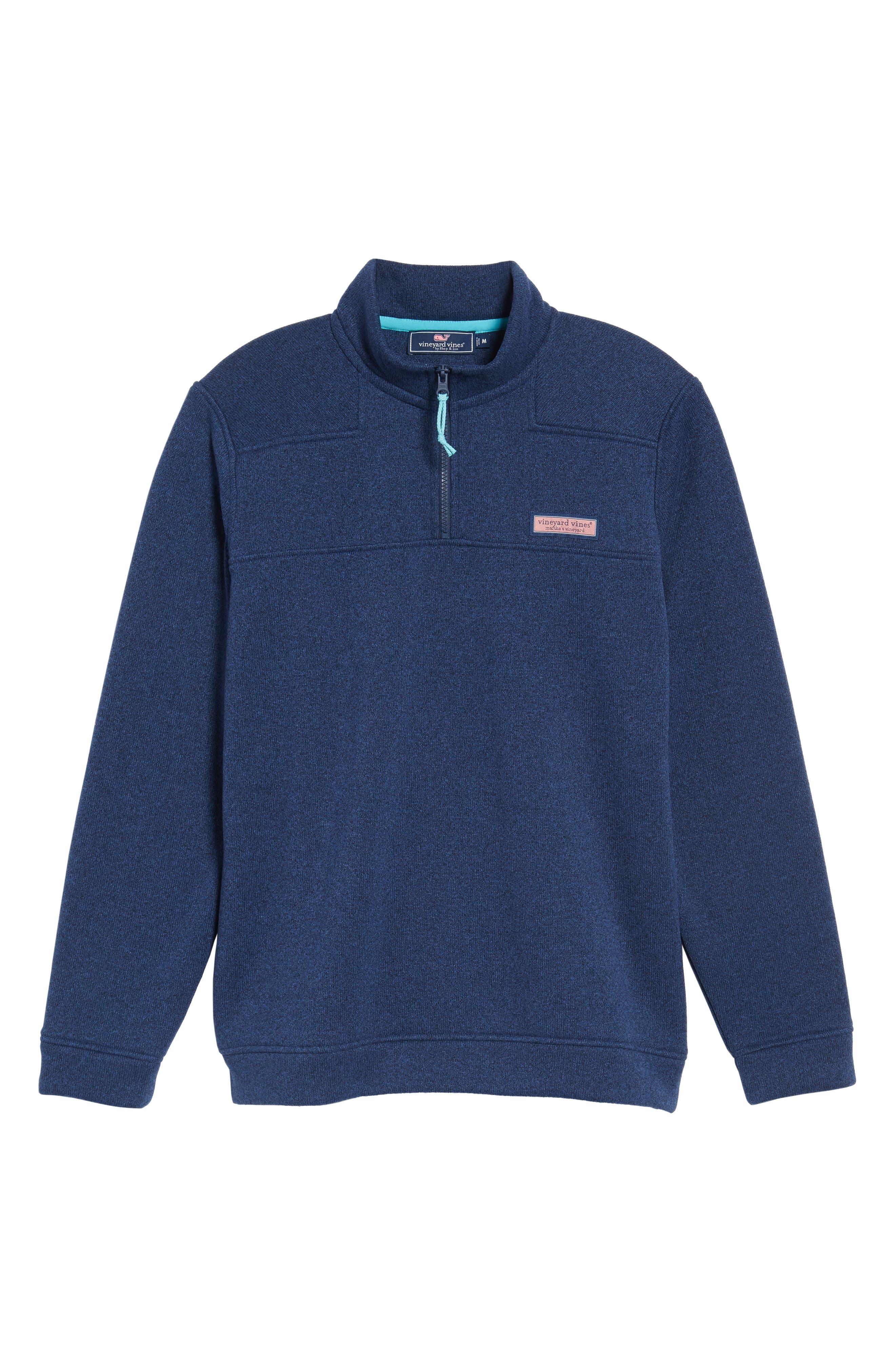 Shep Sweater Fleece Quarter Zip Pullover,                             Alternate thumbnail 12, color,