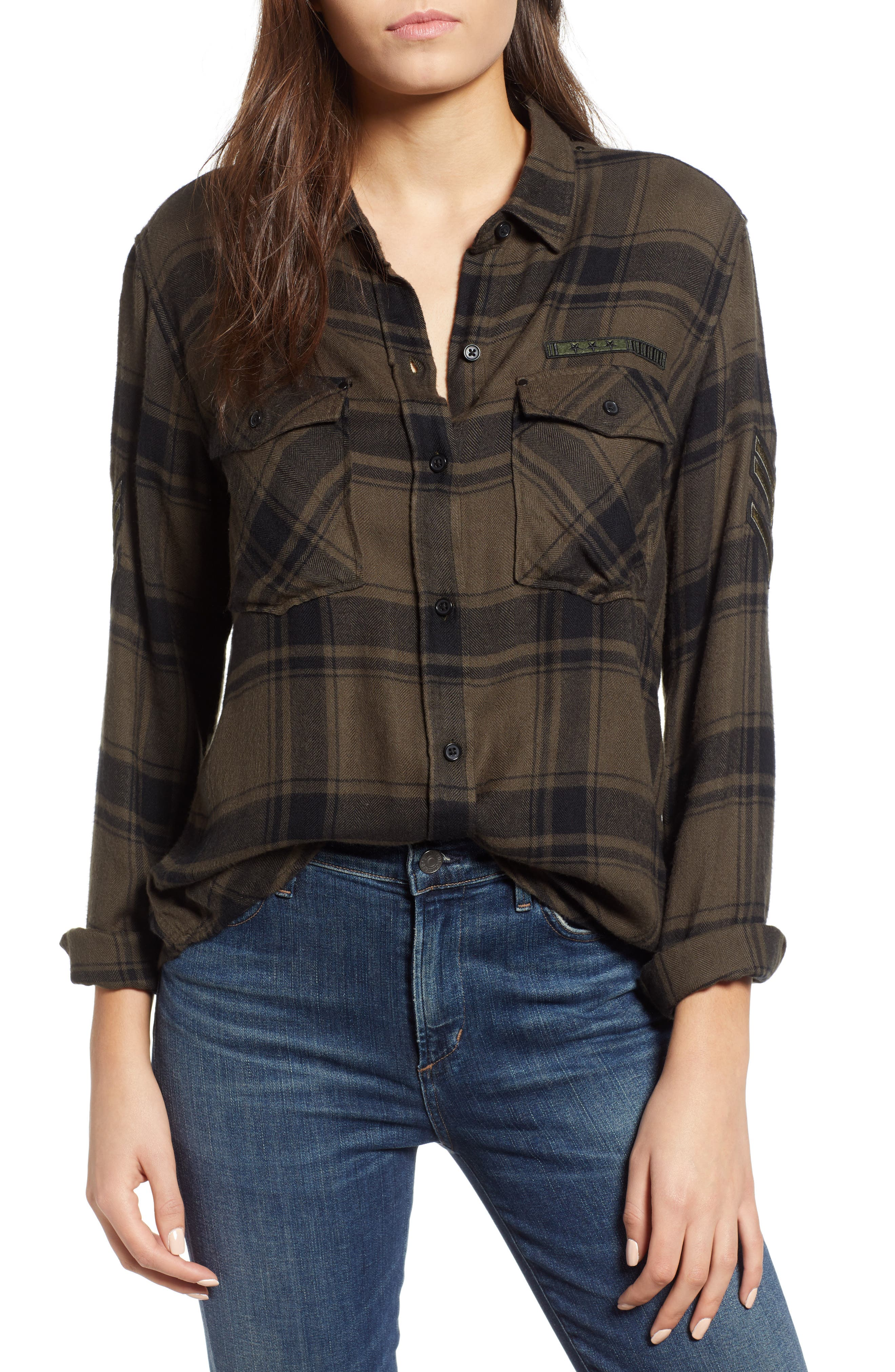 Pepper Boyfriend Shirt,                         Main,                         color, 348