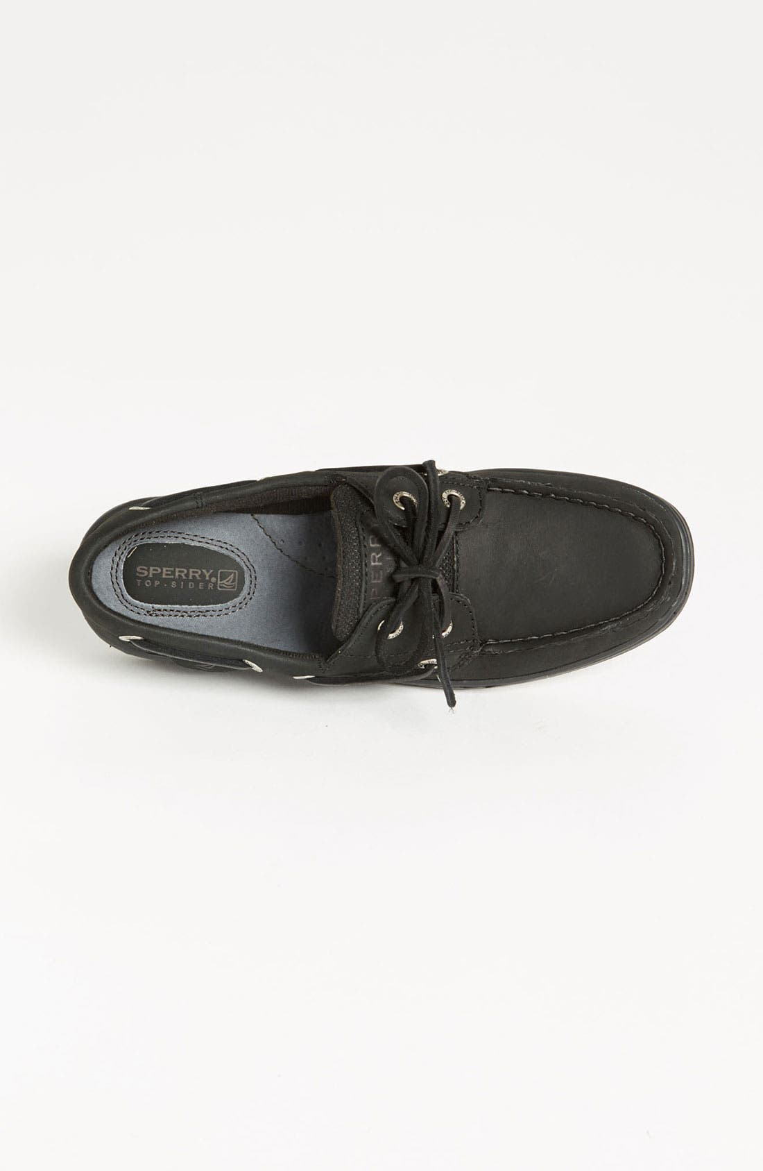 Top-Sider<sup>®</sup> 'Bluefish 2 Eye' Boat Shoe,                             Alternate thumbnail 4, color,                             001