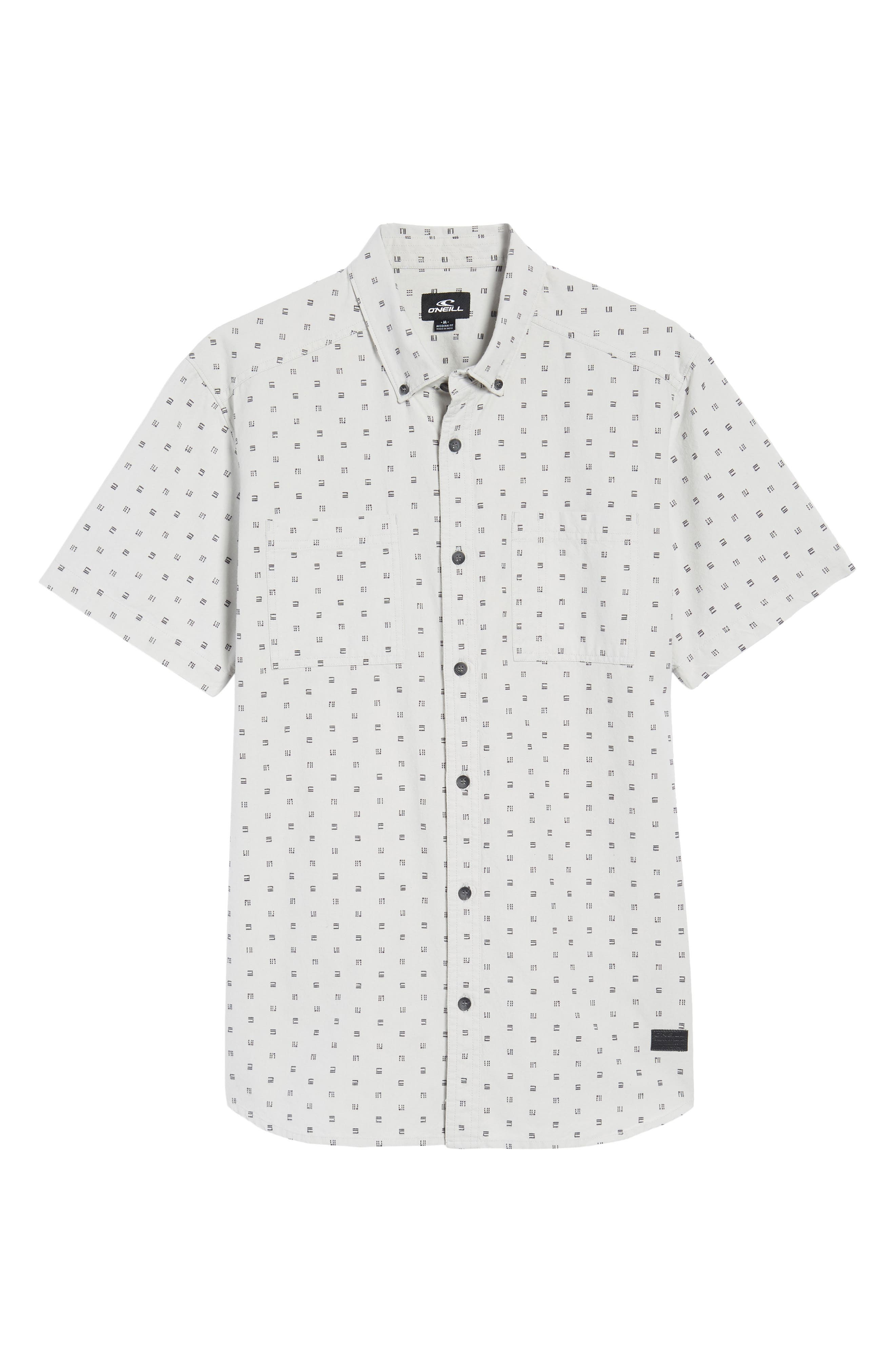 O'NEILL,                             Fifty Two Short Sleeve Shirt,                             Alternate thumbnail 6, color,                             036