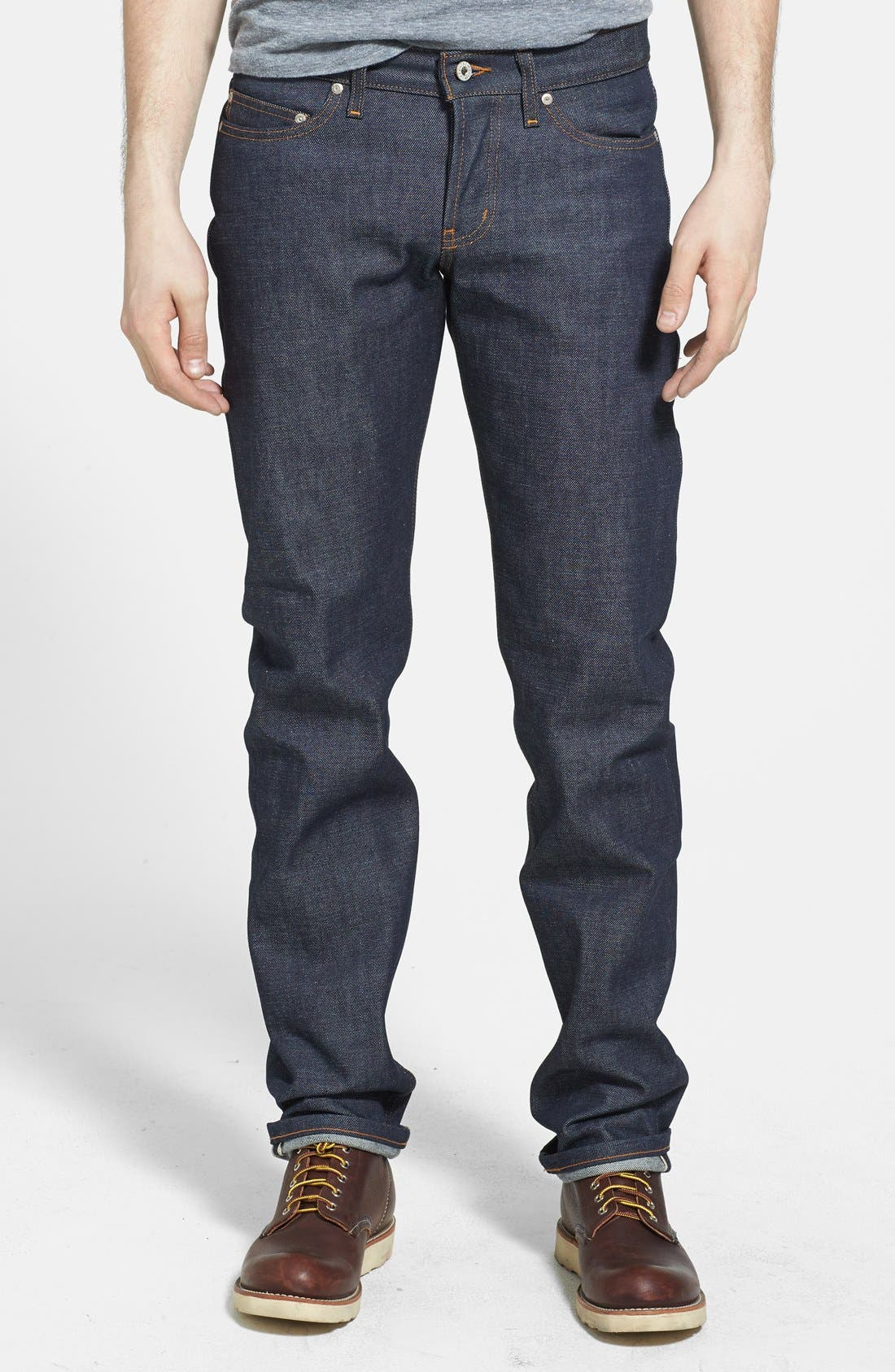 'Weird Guy' Slim Fit Jeans, Main, color, 401
