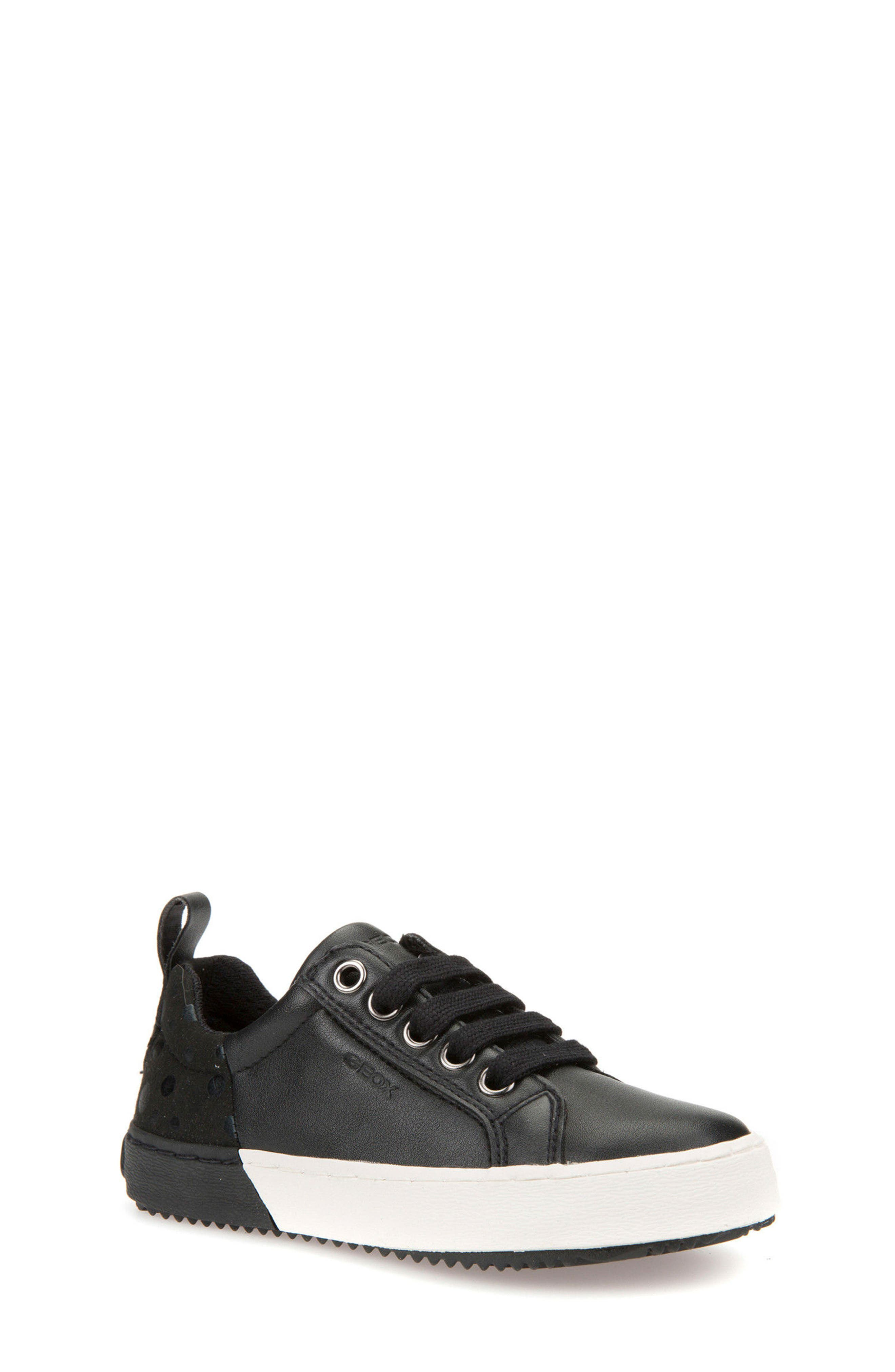 Kalispera Girl Dotted Low-Top Sneaker,                         Main,                         color, 001