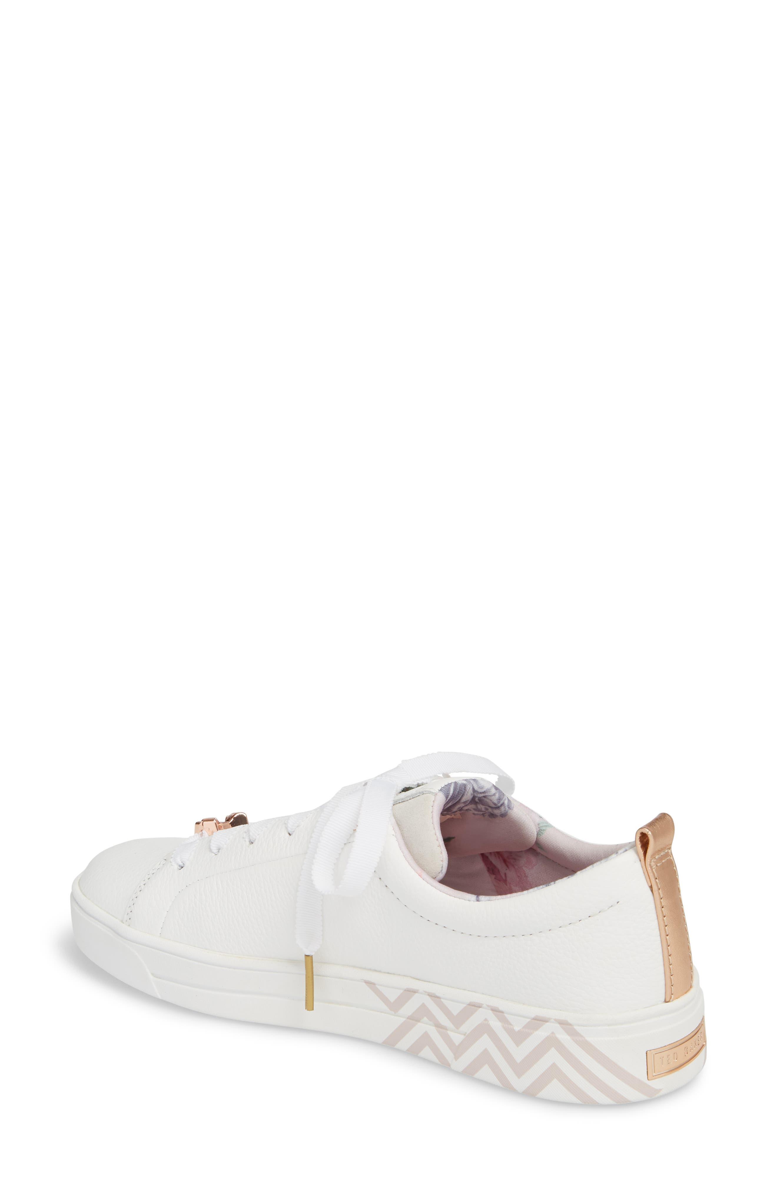 Kelleip Sneaker,                             Alternate thumbnail 2, color,                             PALACE GARDENS PRINT LEATHER