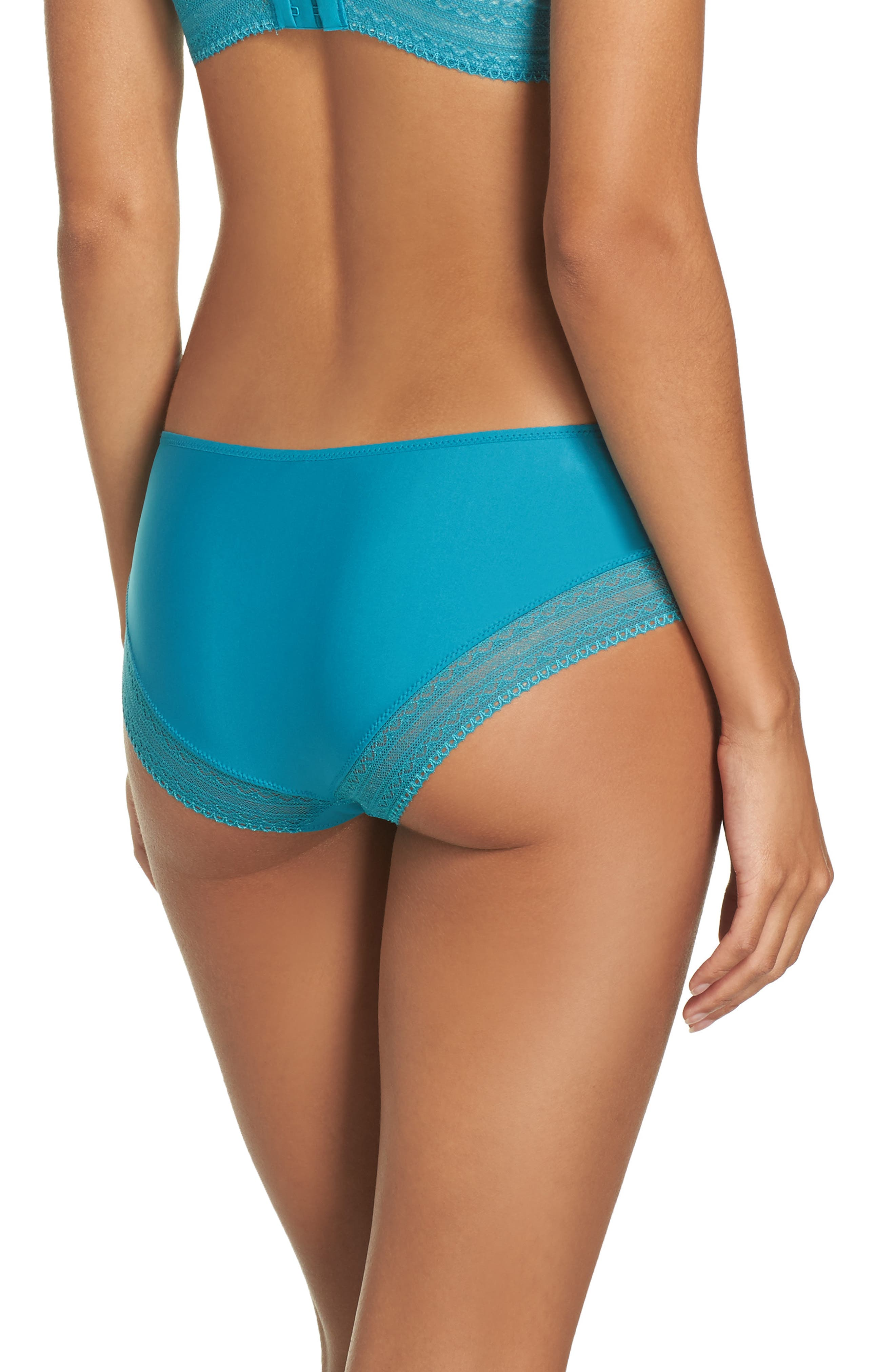 Cheeky Convertible Underwire Push-Up Bra,                             Alternate thumbnail 11, color,