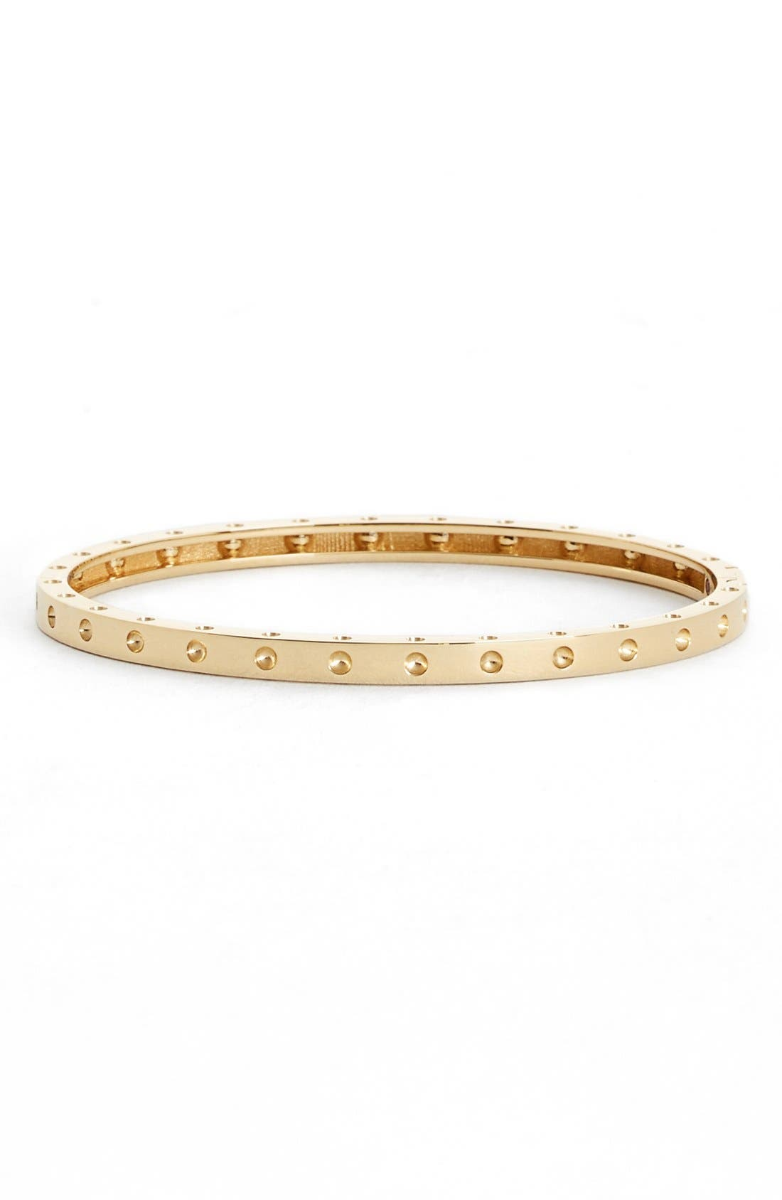 'Symphony - Pois Moi' Ruby Bangle,                         Main,                         color, YELLOW GOLD