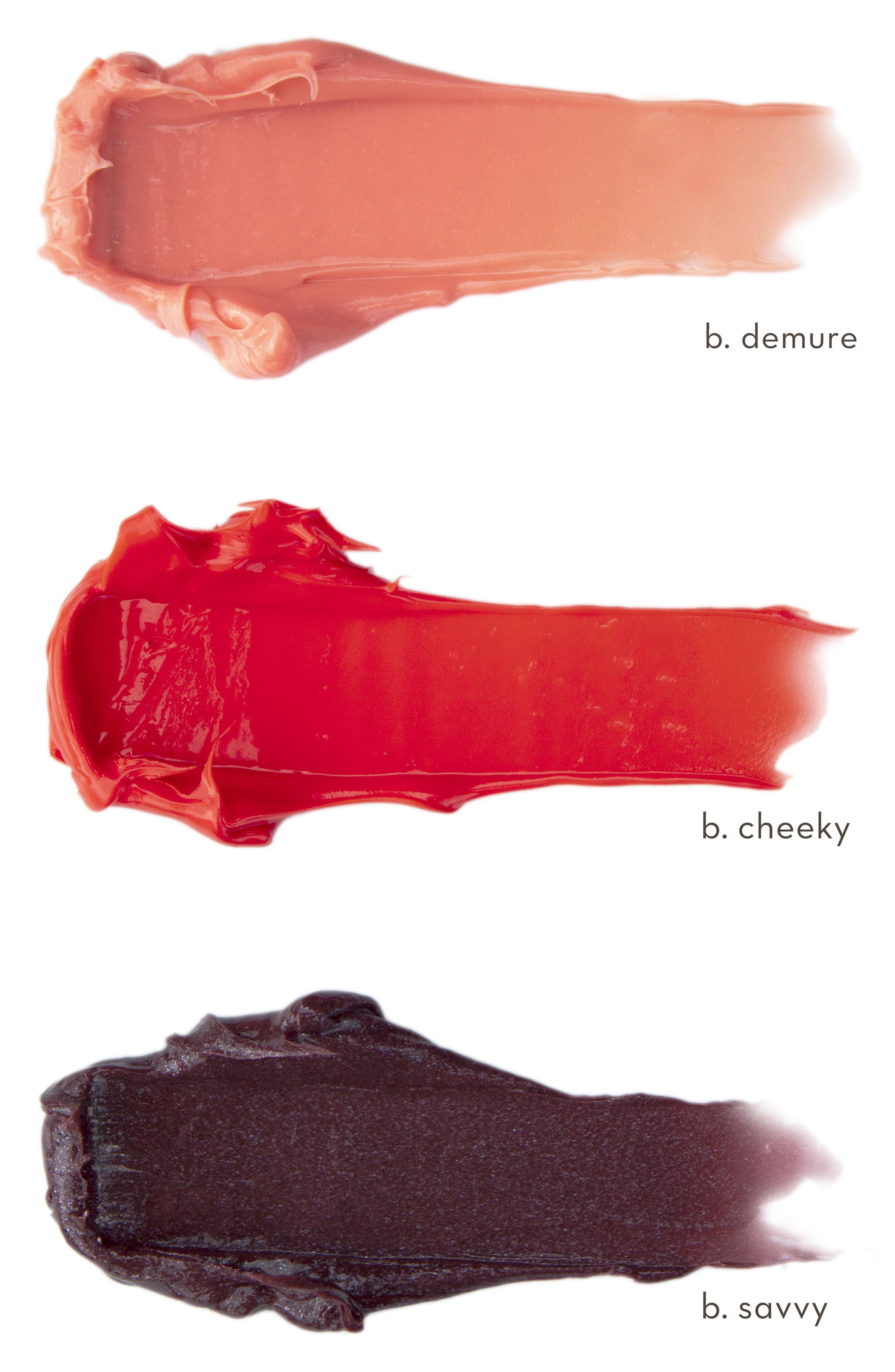 Tinted Lip Balm,                             Alternate thumbnail 3, color,                             B. CHEEKY (PINK/RED)
