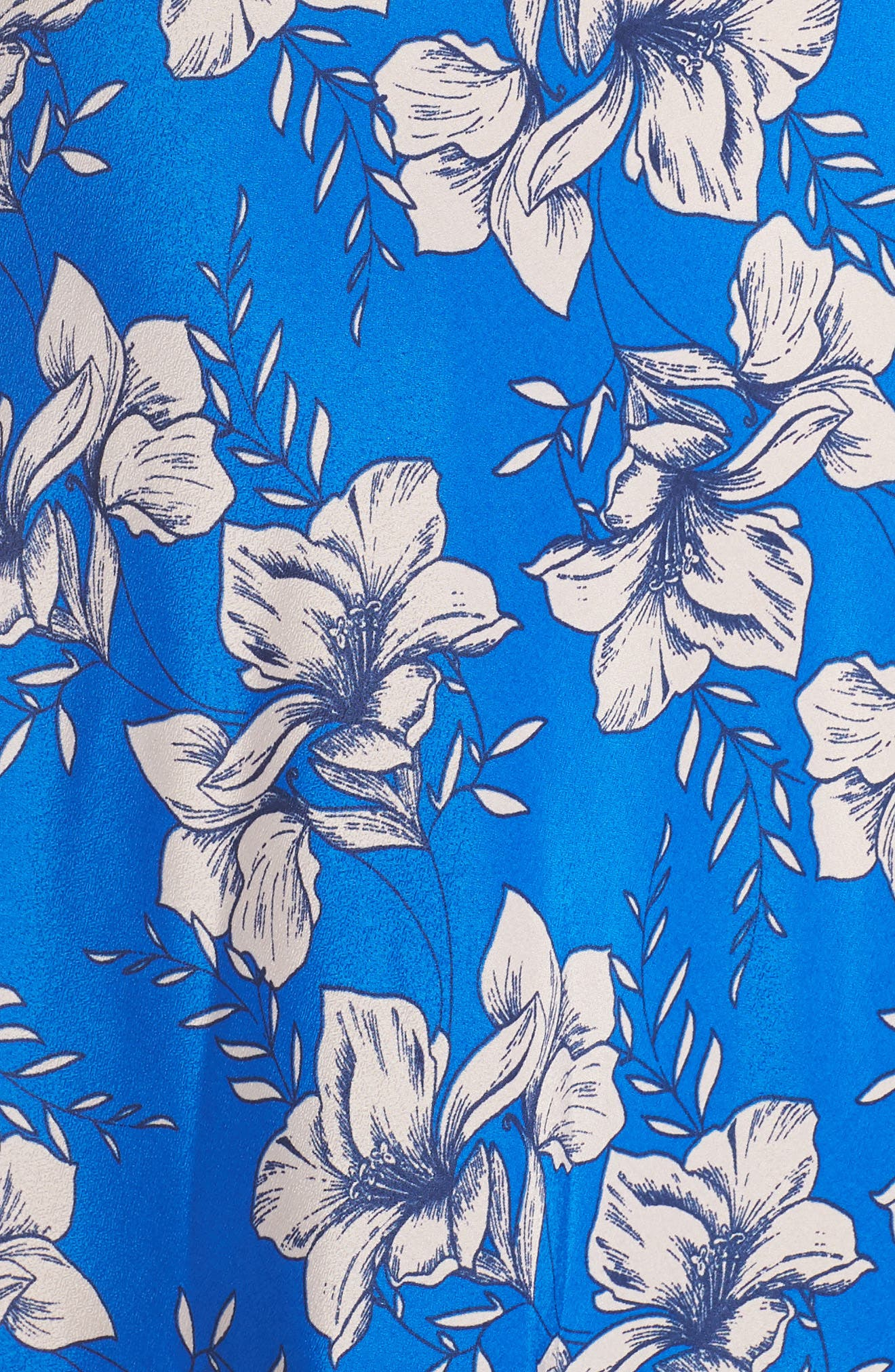 ELIZA J,                             Faux Wrap Maxi Dress,                             Alternate thumbnail 6, color,                             BLUE