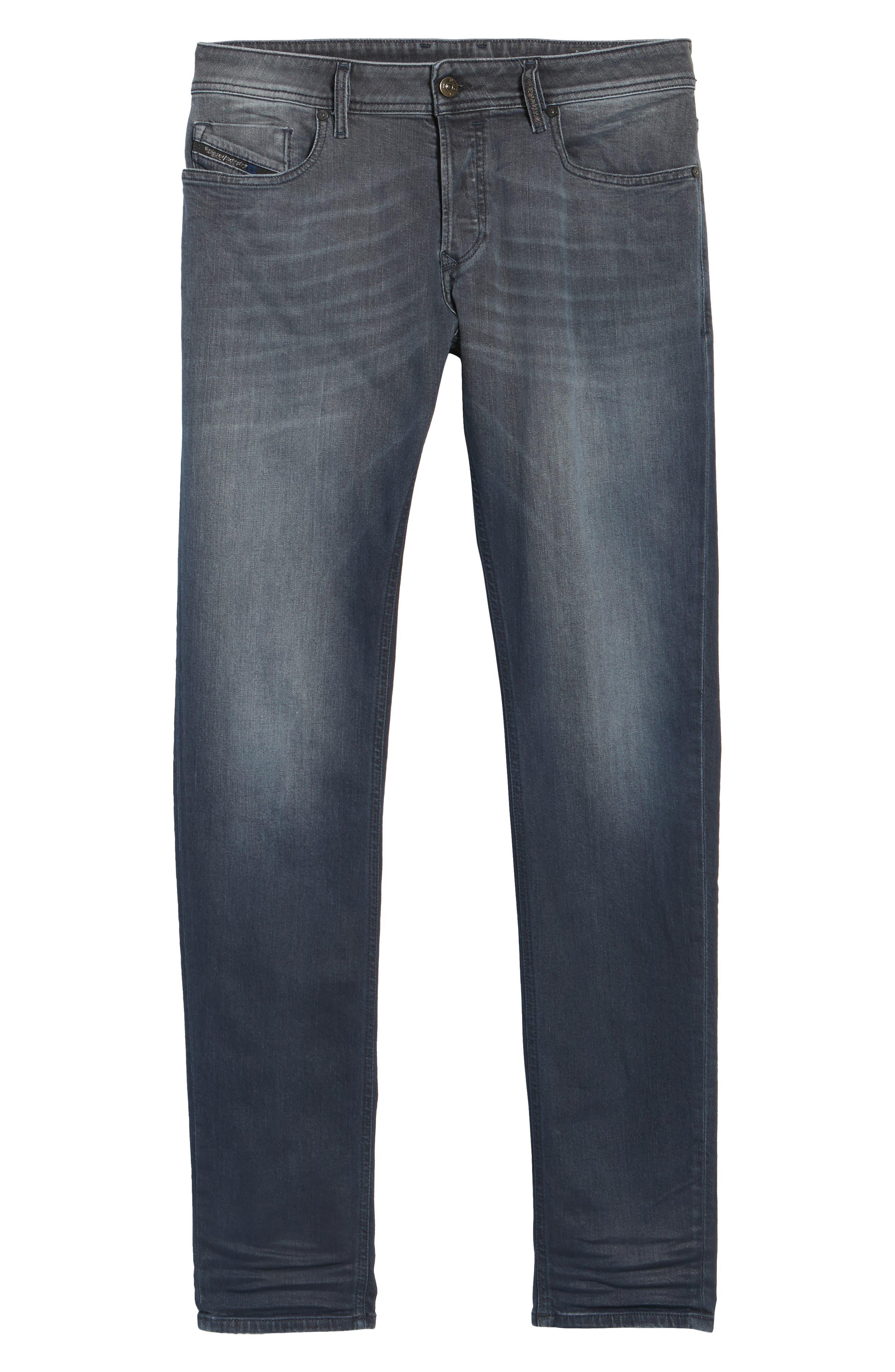 Sleenker Skinny Fit Jeans,                             Alternate thumbnail 6, color,                             400