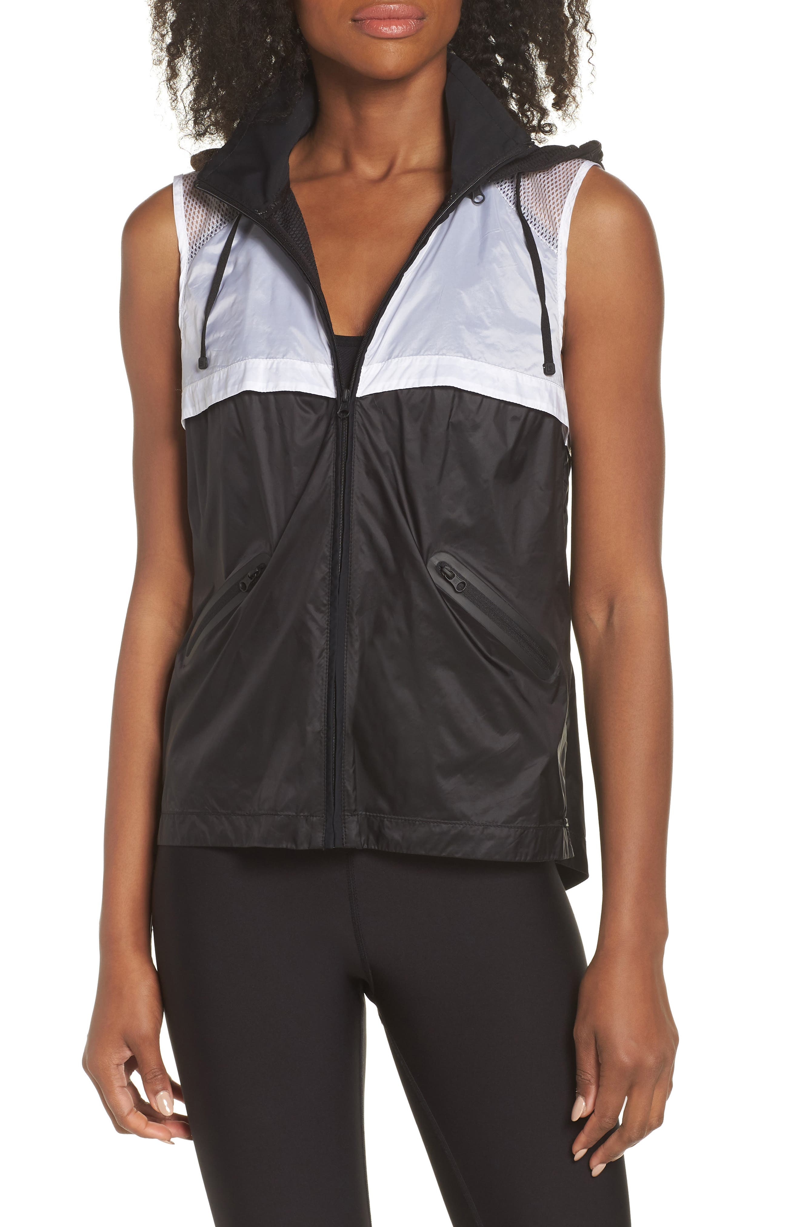 Moonlight Vest,                         Main,                         color, BLACK
