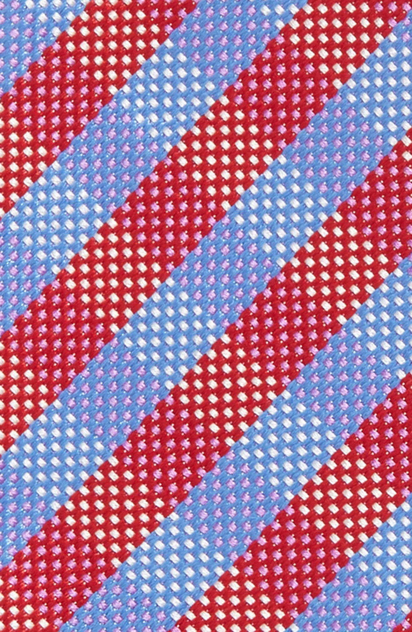 Check Silk Bow Tie,                             Alternate thumbnail 8, color,