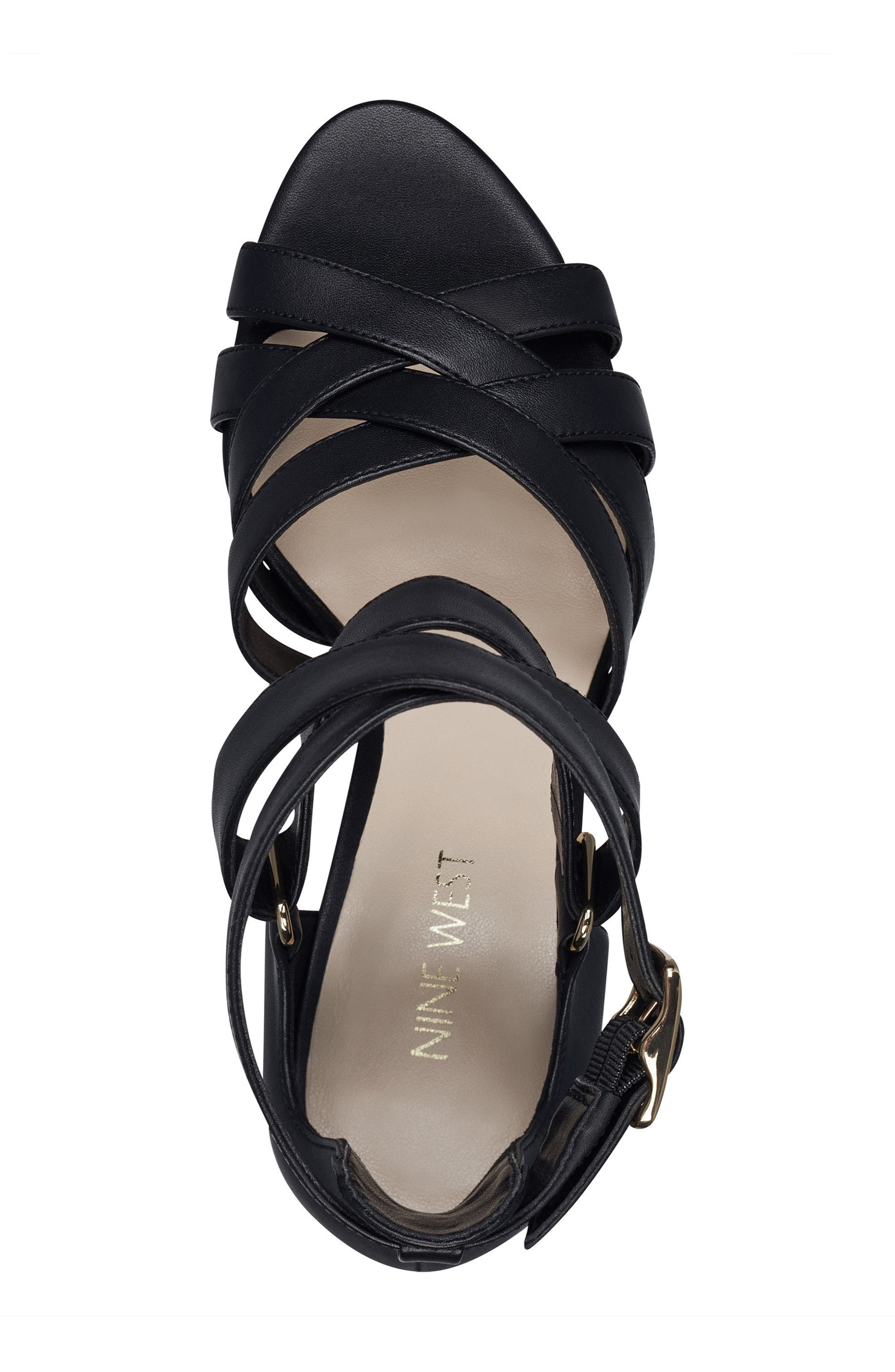 McGlynn Strappy Sandal,                             Alternate thumbnail 5, color,                             001