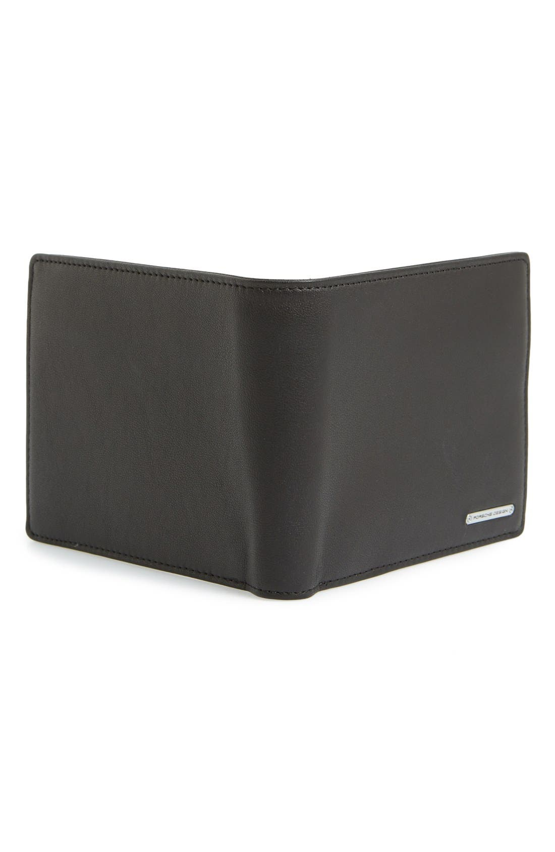 'CL2 2.0' Leather Billfold Wallet,                             Alternate thumbnail 3, color,                             001