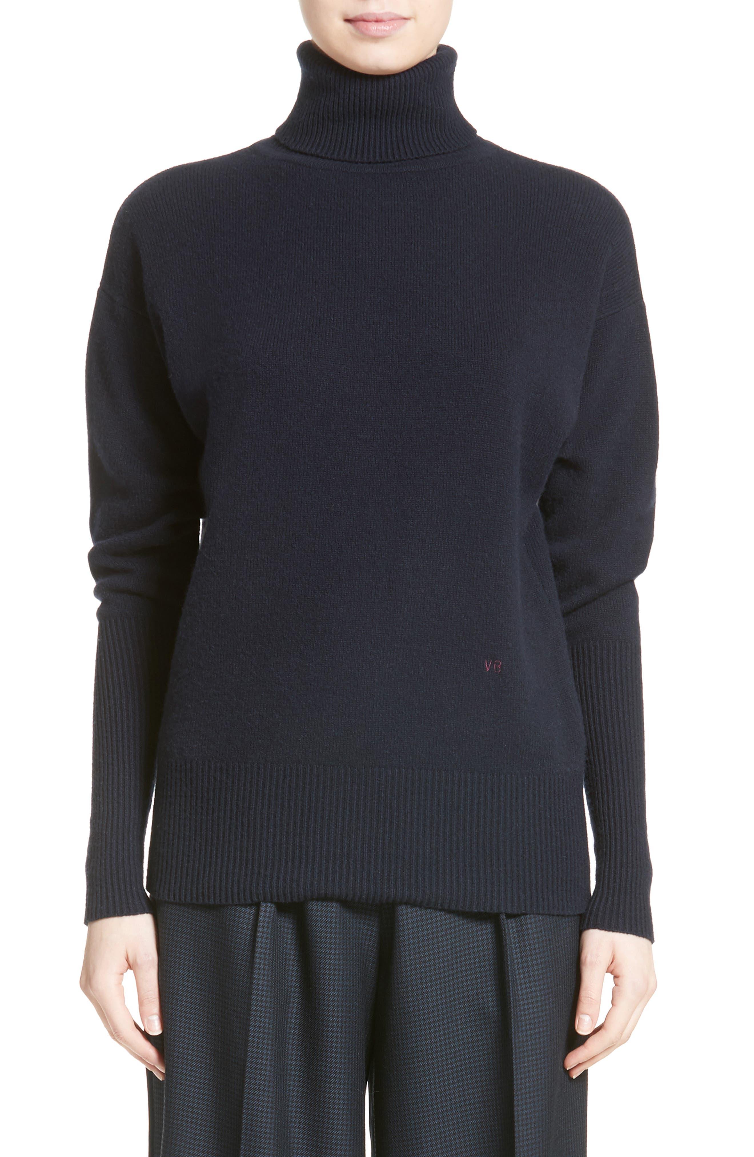 Cashmere Turtleneck Sweater,                             Main thumbnail 1, color,                             400