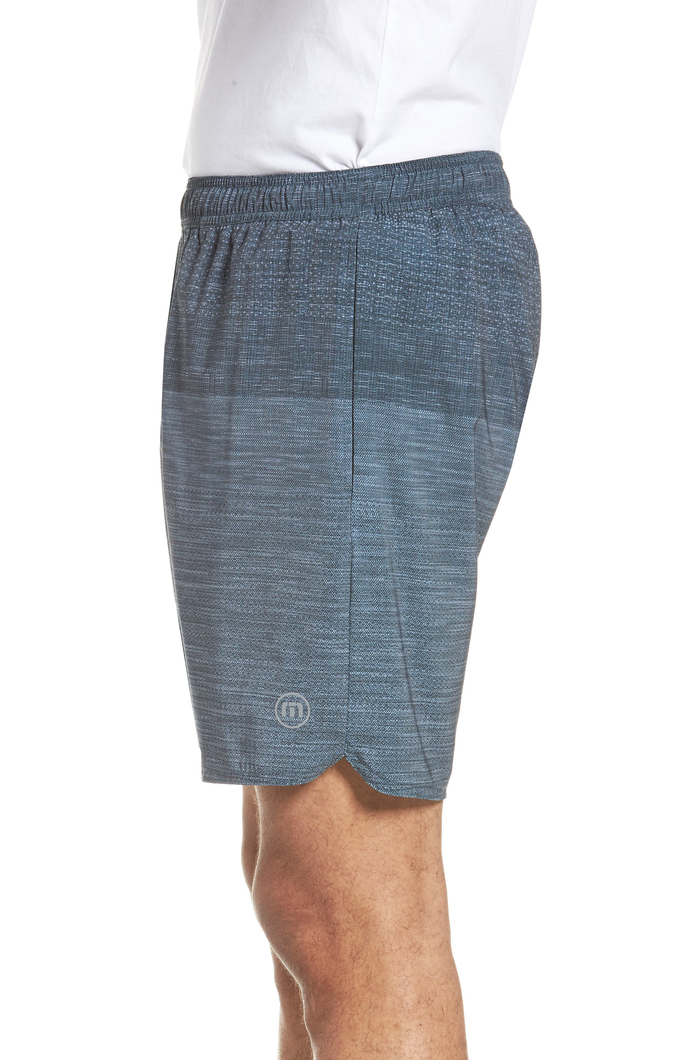 Tempo Performance Shorts,                             Alternate thumbnail 3, color,                             HEATHER QUIET SHADE