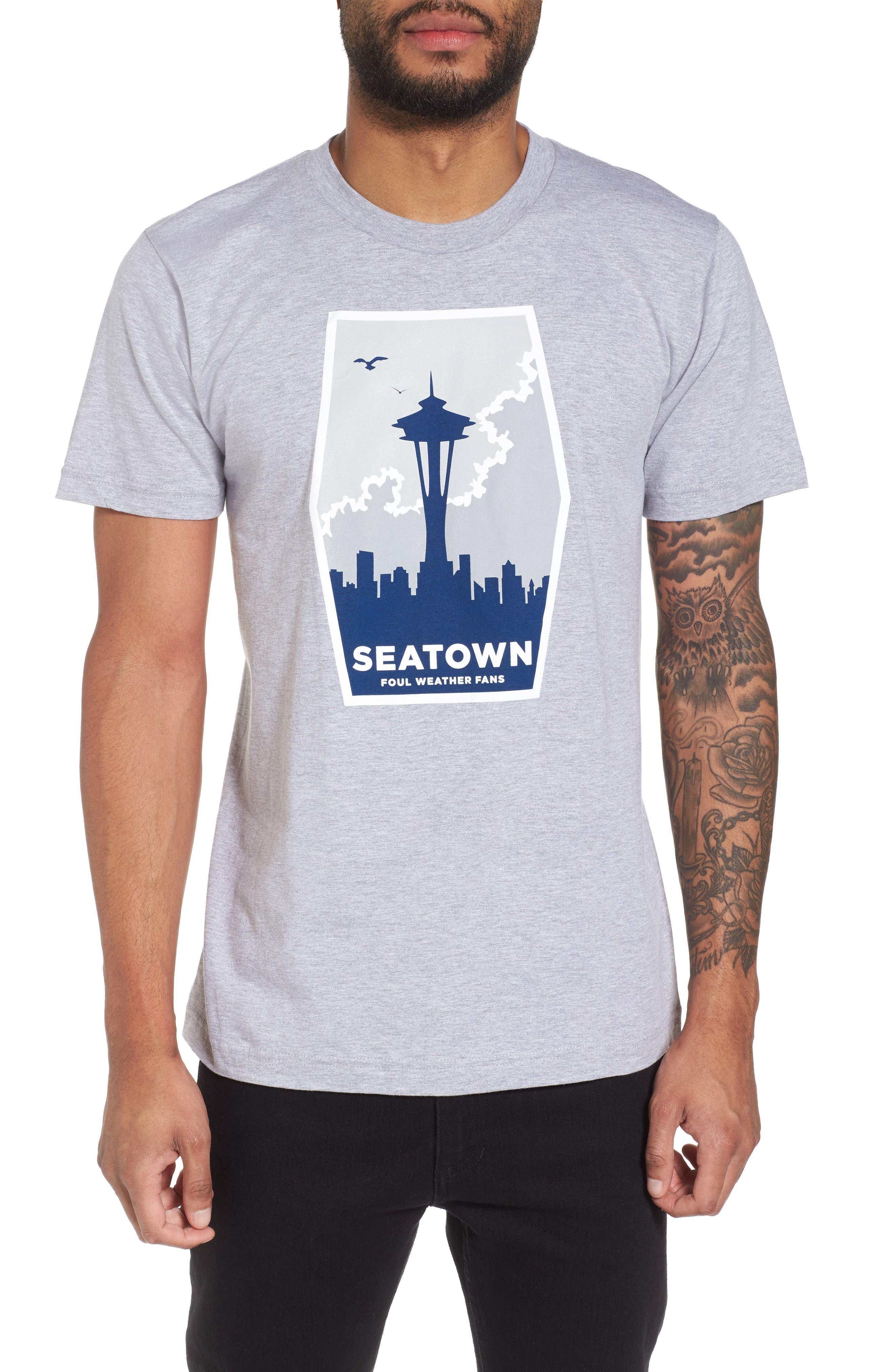 Foul Weather Fans T-Shirt,                         Main,                         color, 020