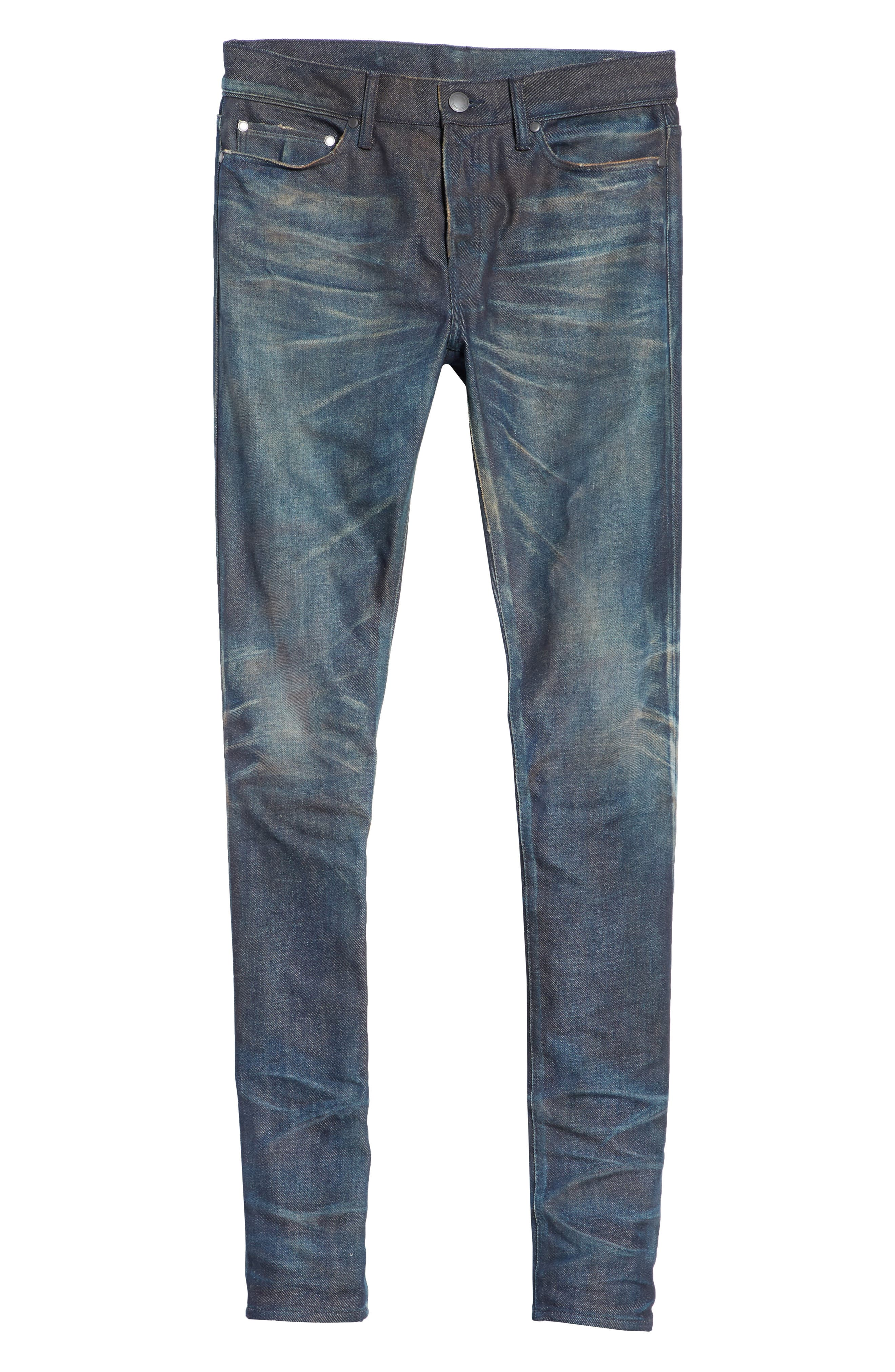 The Cast 2 Skinny Fit Jeans,                             Alternate thumbnail 6, color,                             BLUE