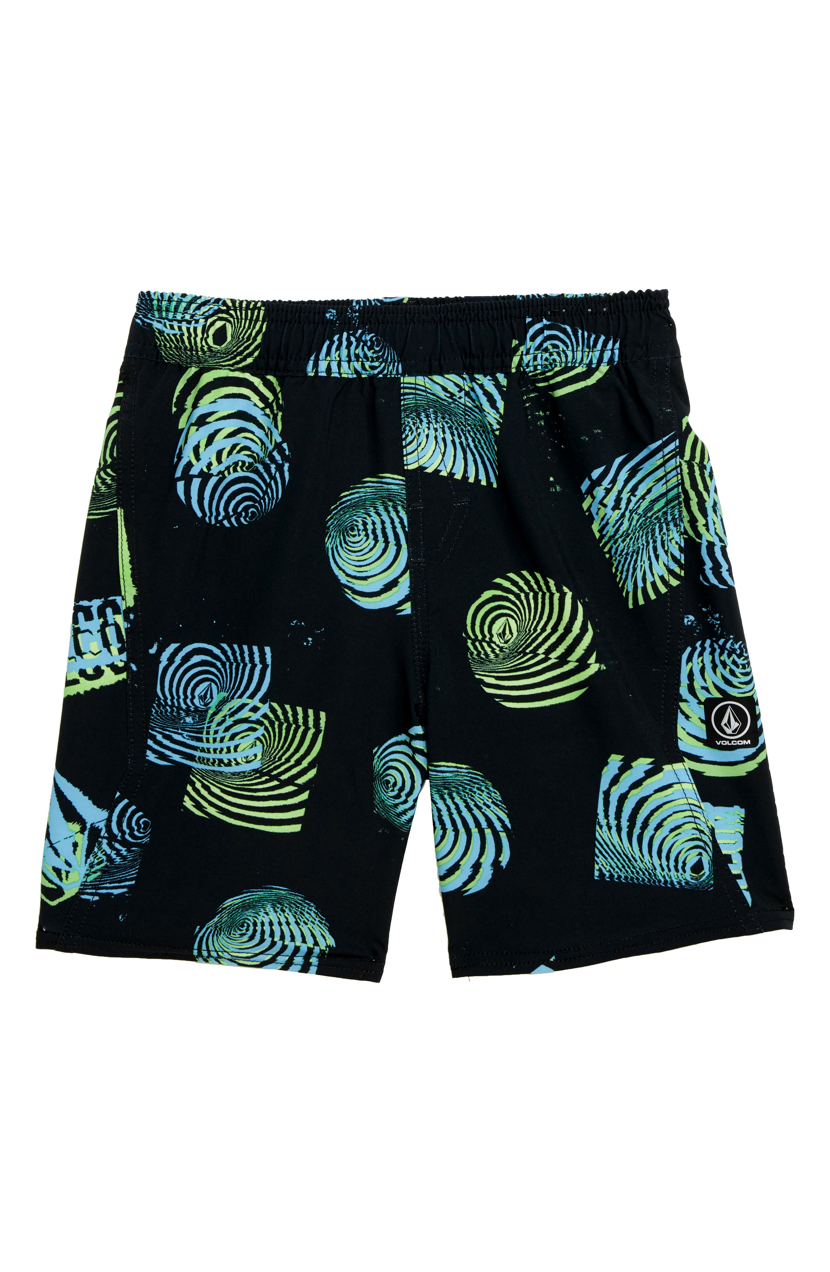 Nothing More Volley Shorts,                         Main,                         color, BLACK