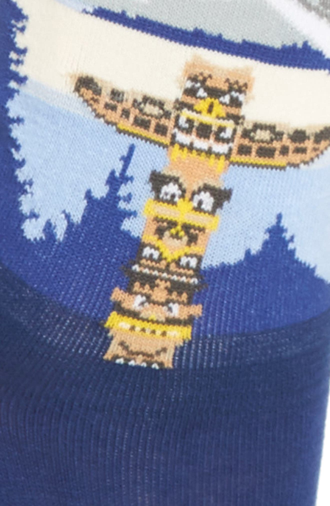 Travel Series - Alaska Crew Socks,                             Alternate thumbnail 3, color,                             439