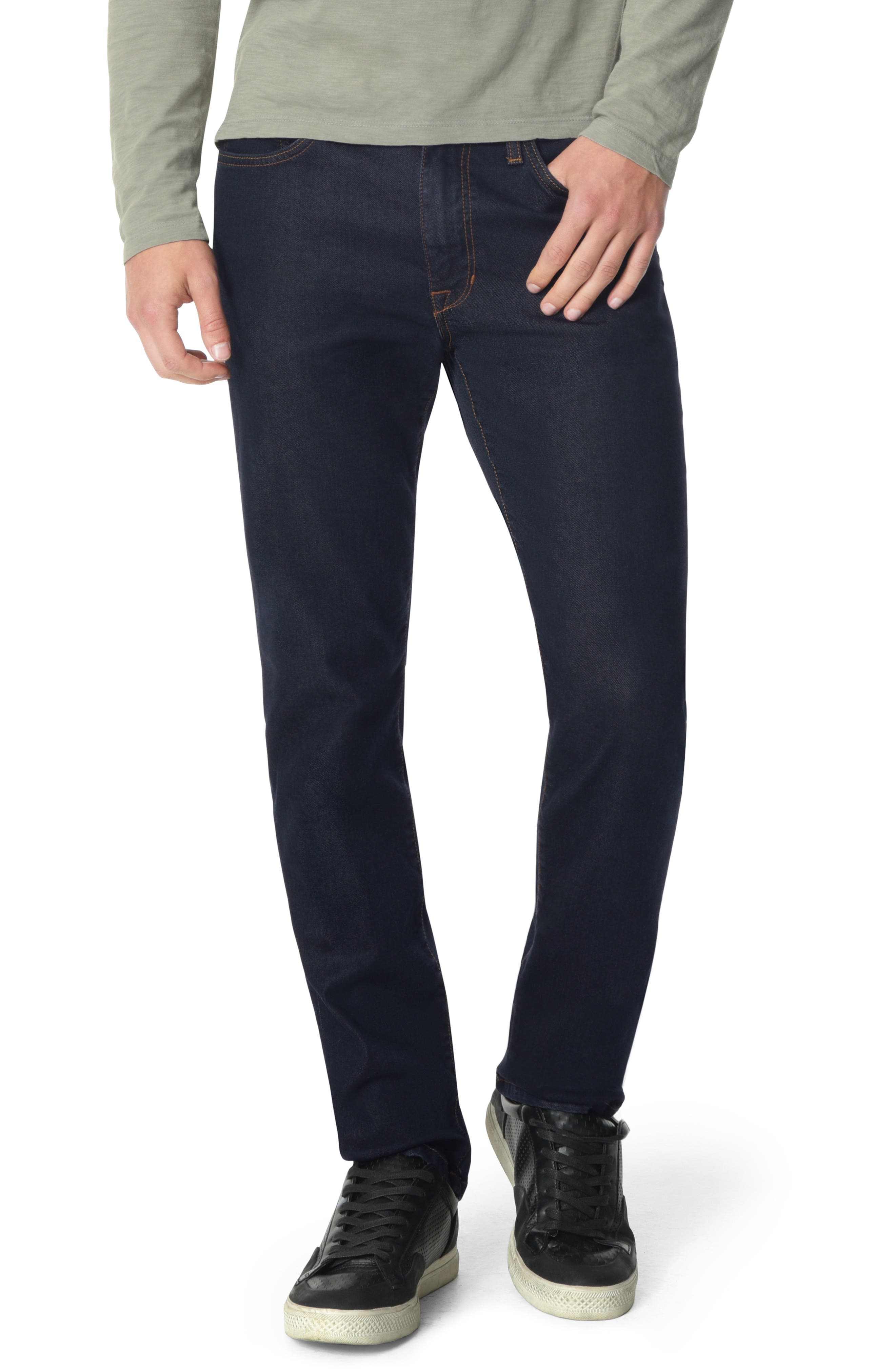 Brixton Slim Straight Leg Jeans, Main, color, SIMON