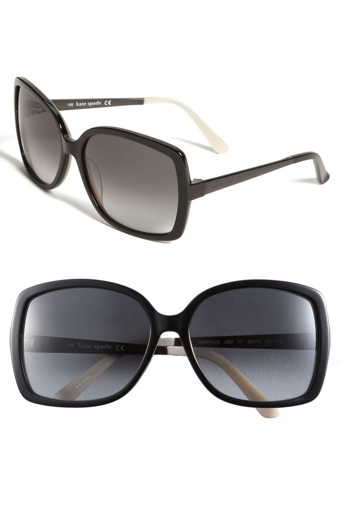 'darryl' 59mm sunglasses,                         Main,                         color,