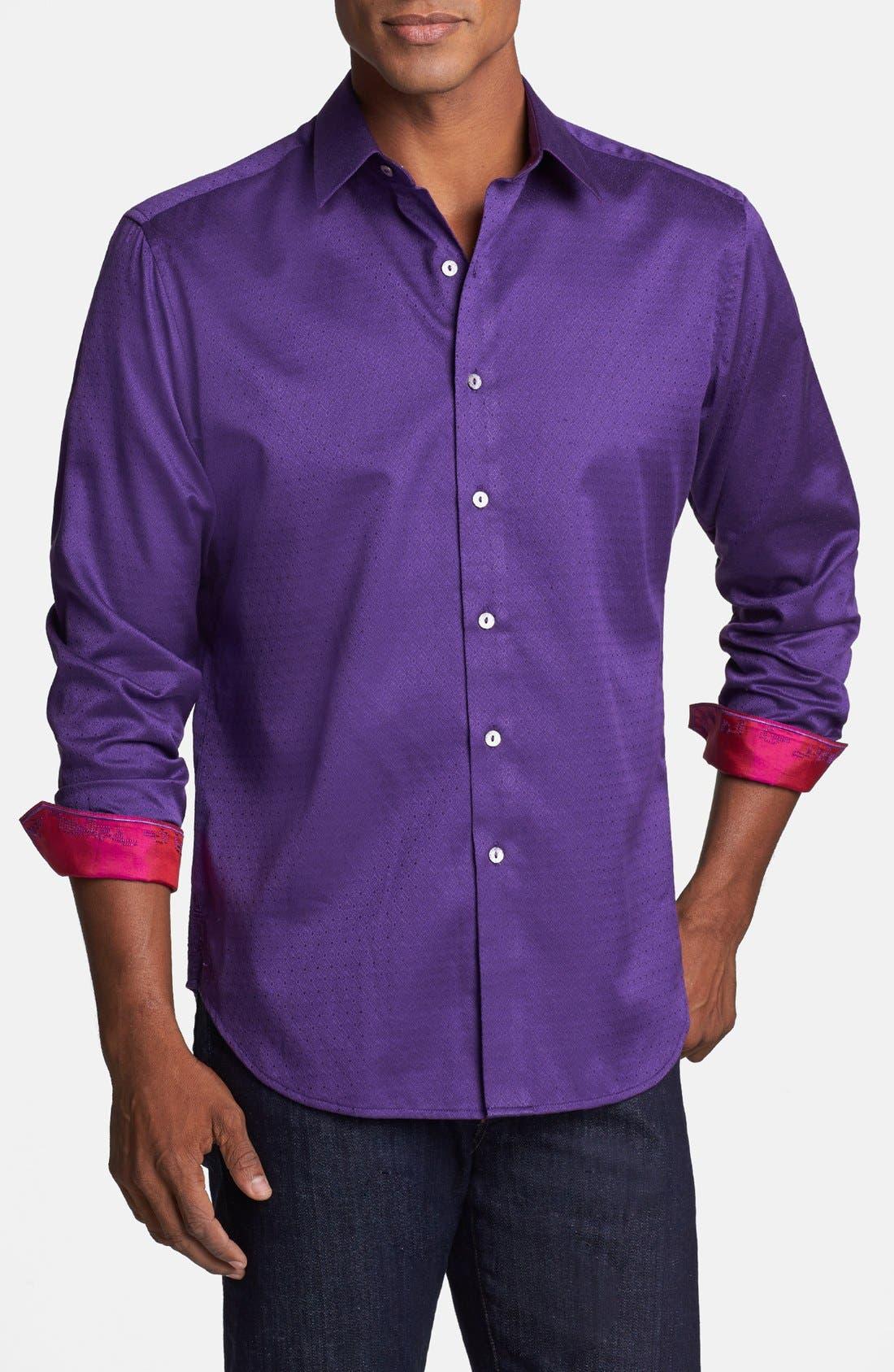'Astiral' Sport Shirt, Main, color, 510