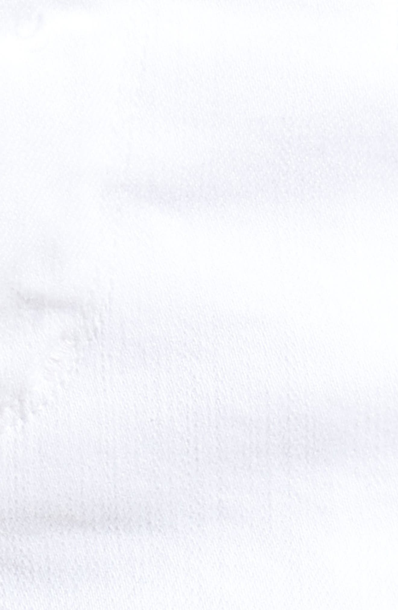 Ava Cutoff Denim Shorts,                             Alternate thumbnail 6, color,                             104