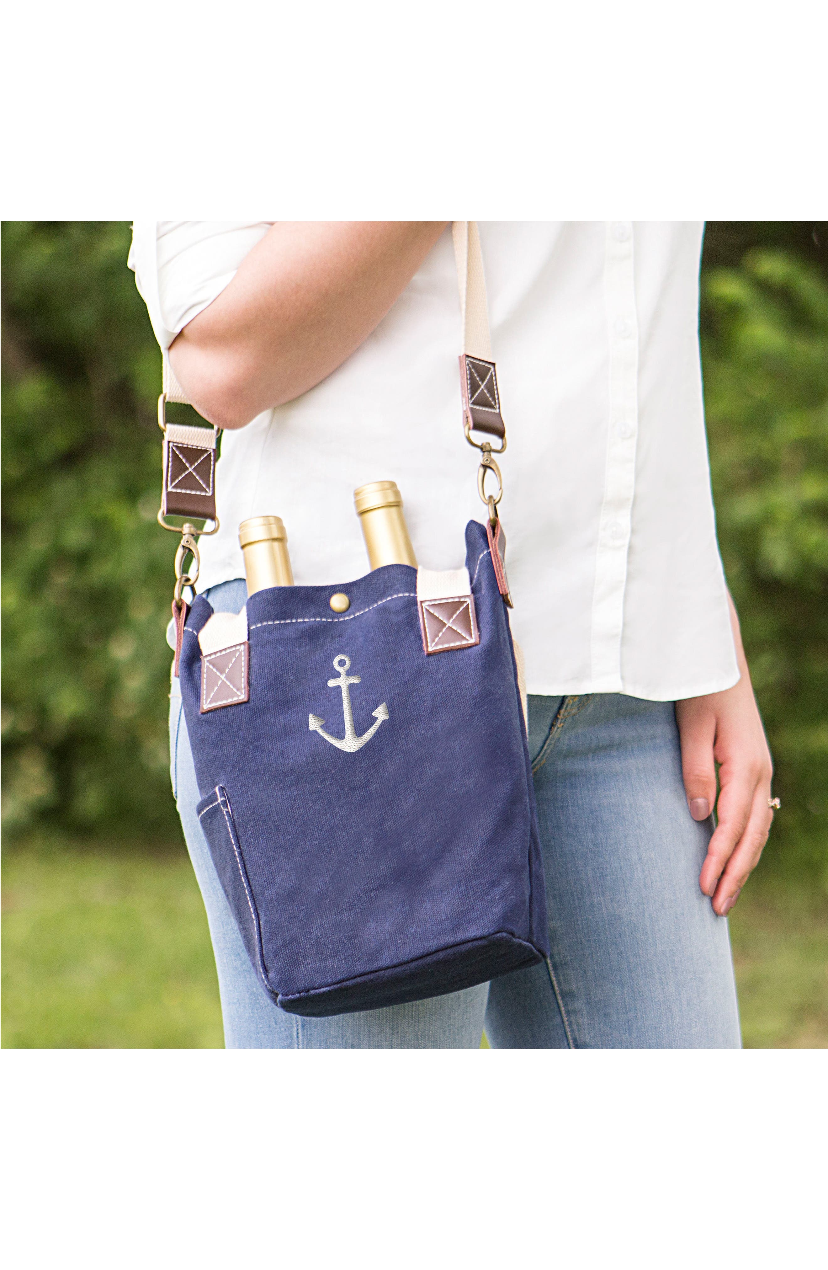 Anchor Wine Tote,                             Alternate thumbnail 2, color,