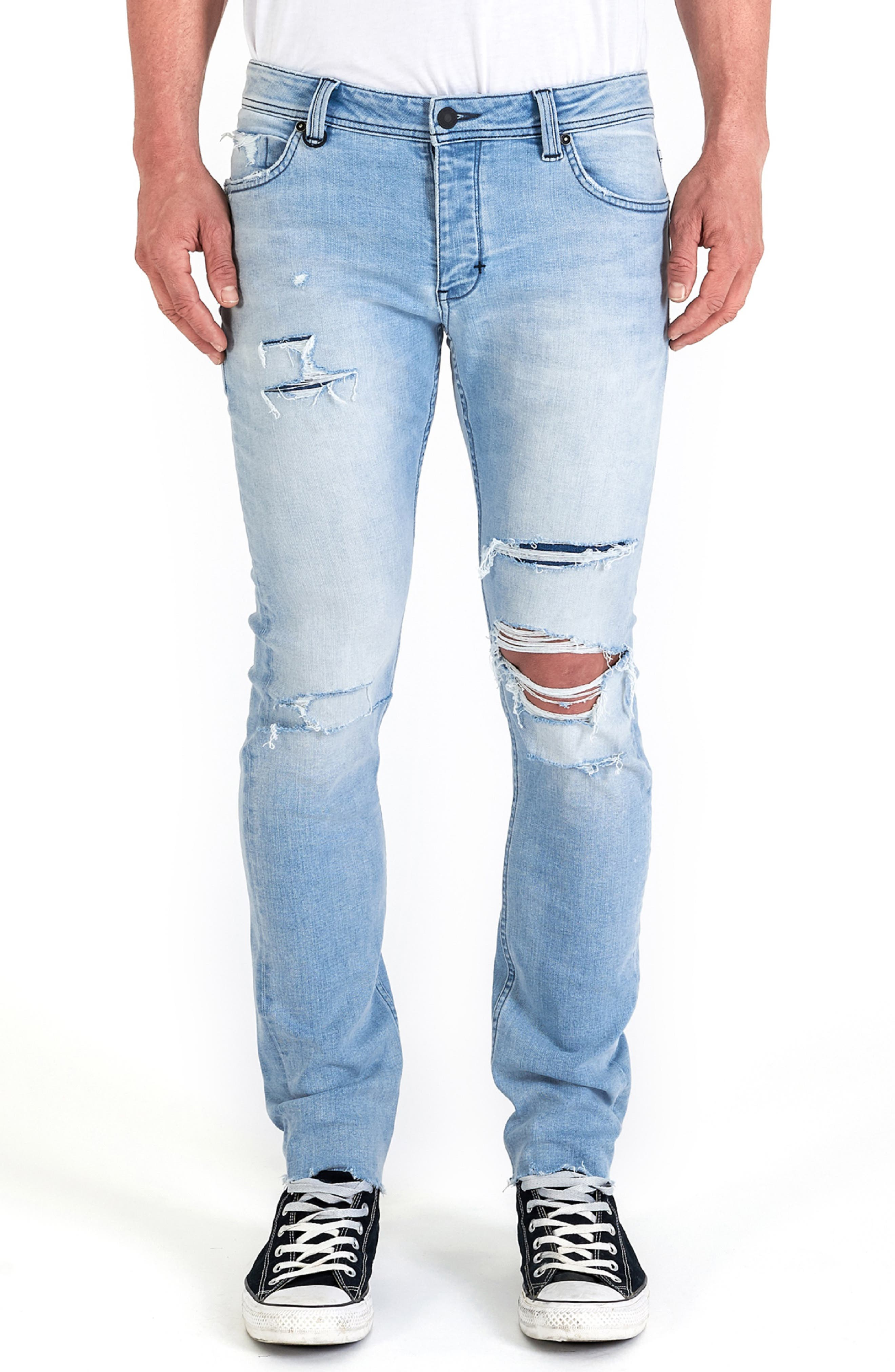 Iggy Skinny Fit Jeans,                             Main thumbnail 1, color,                             FRACTURE