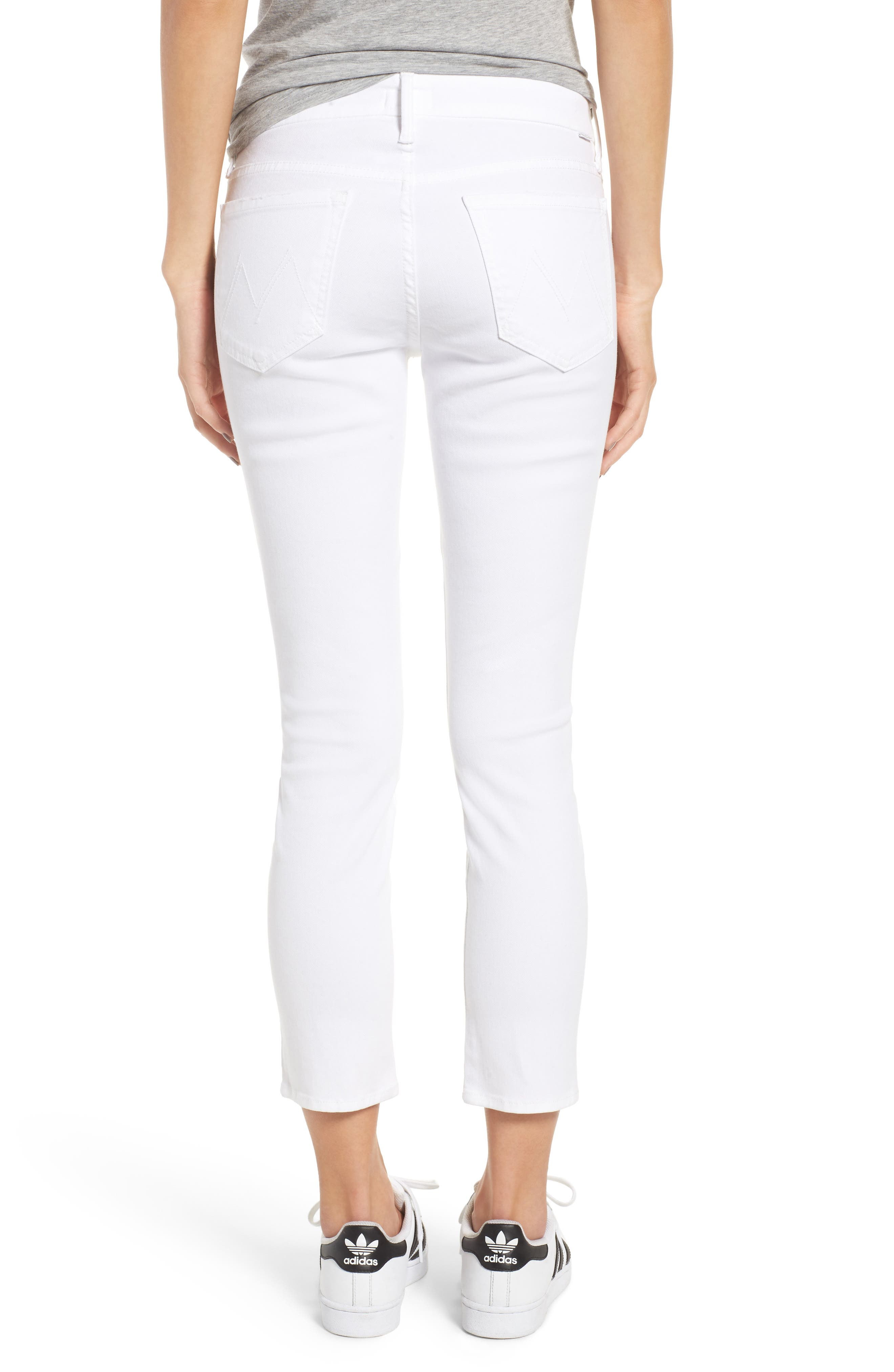 The Looker Crop Jeans,                             Alternate thumbnail 2, color,                             GLASS SLIPPER