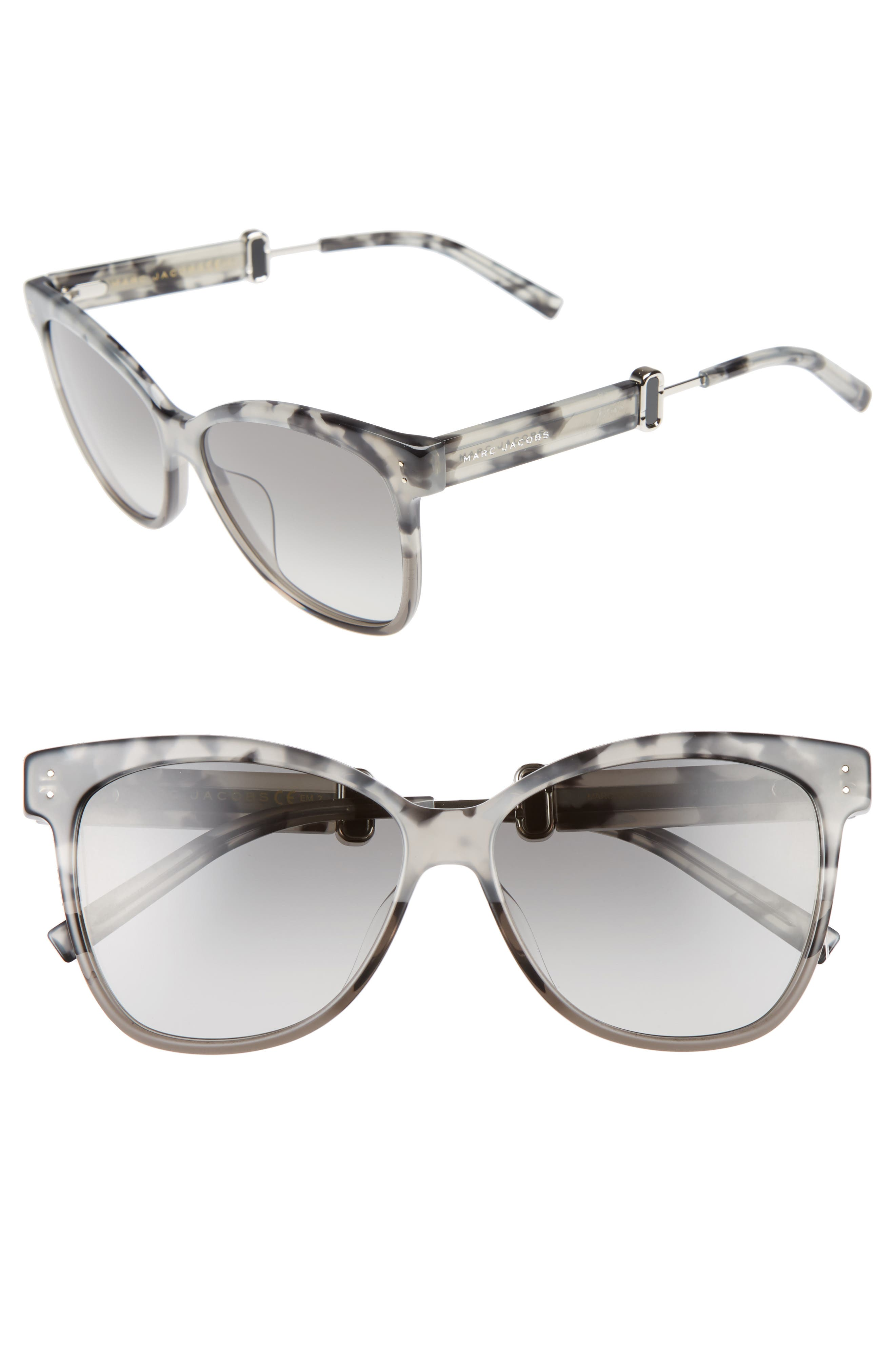 55mm Sunglasses,                             Main thumbnail 2, color,